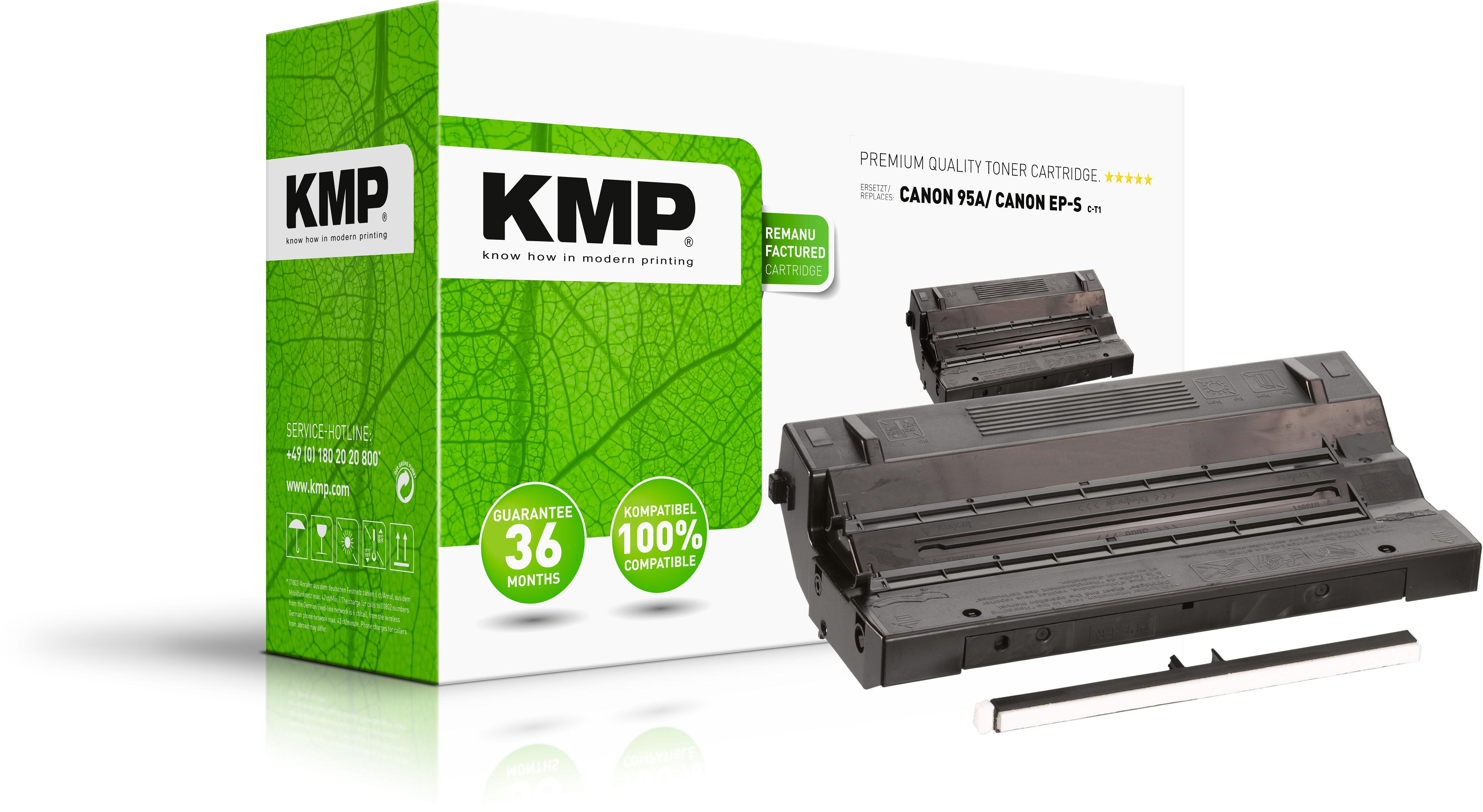 KMP Toner-Kartusche schwarz (0802,0000, C-T1)