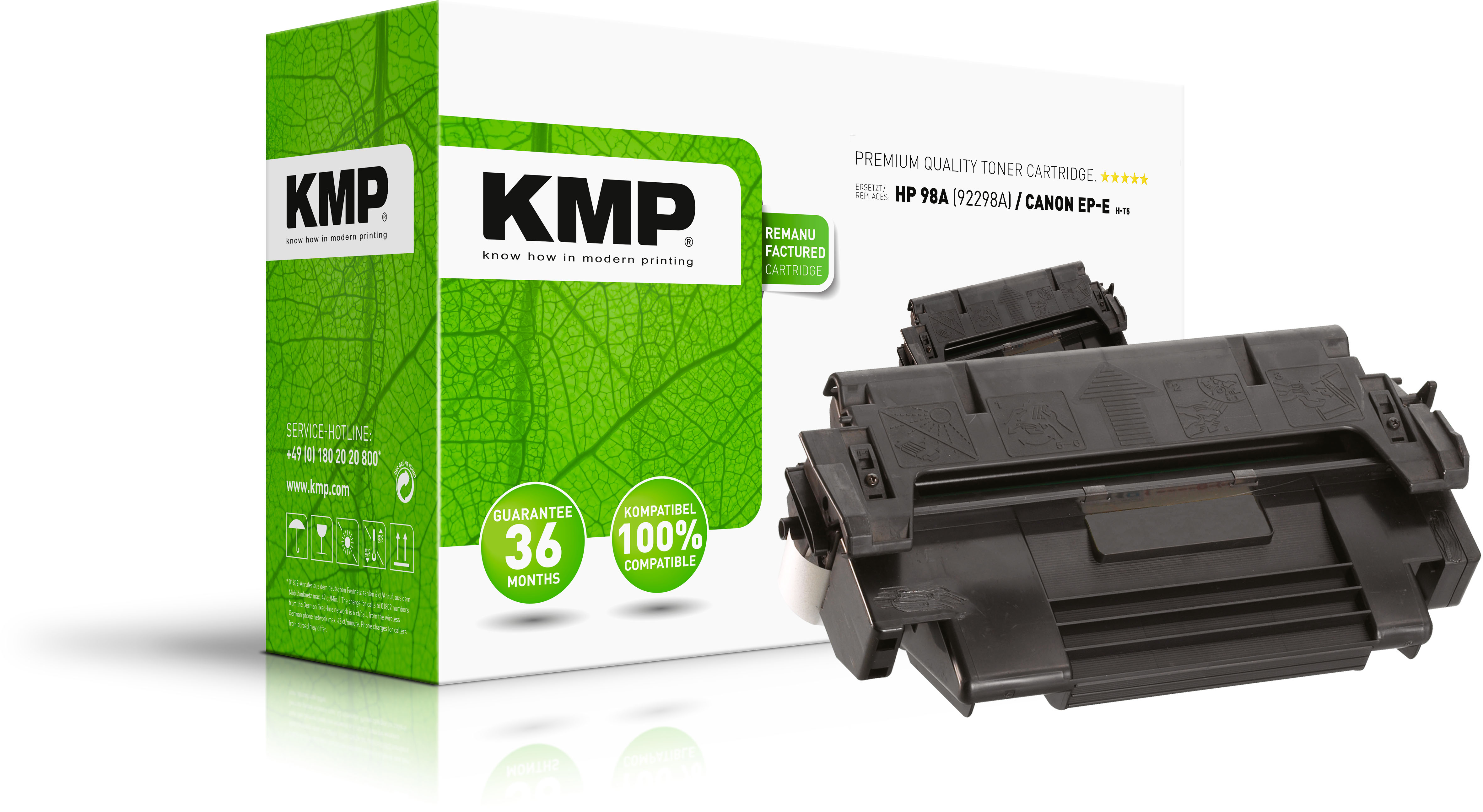 KMP Toner-Kartusche schwarz (0824,0000, H-T5)