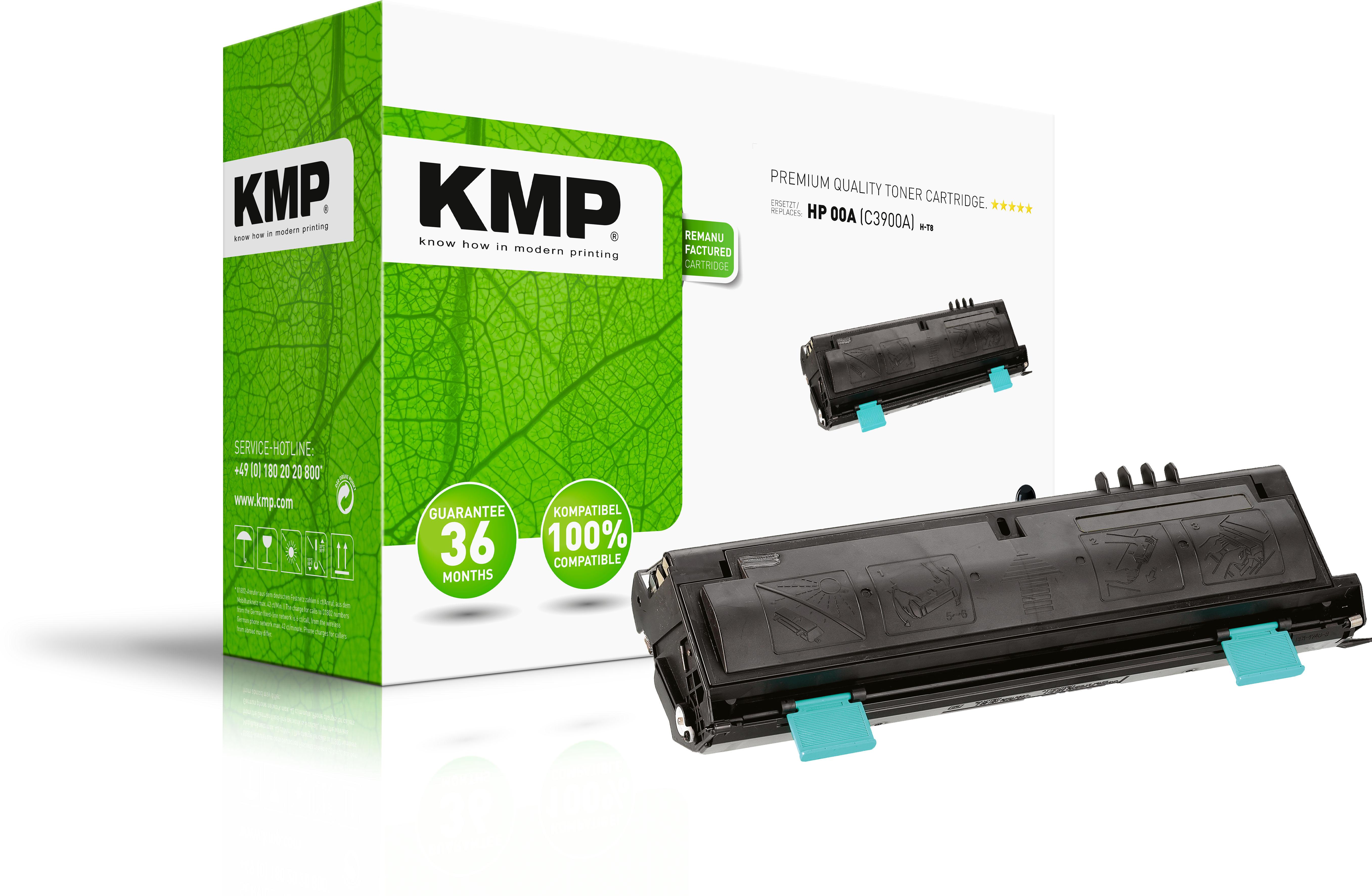 KMP Toner-Kartusche schwarz (0865,0000, H-T8)