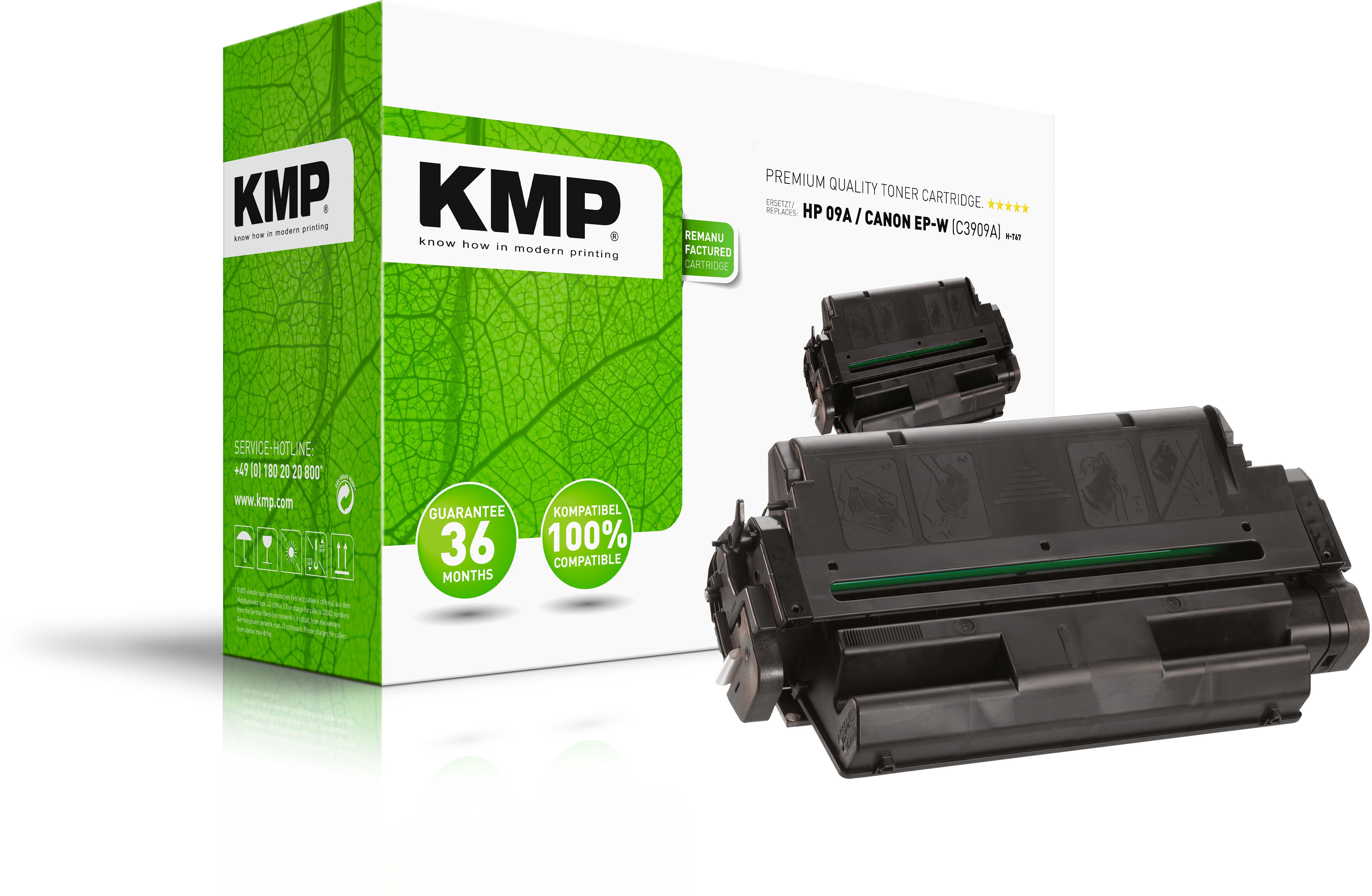 KMP Toner-Kartusche schwarz (0868,0000, H-T67)