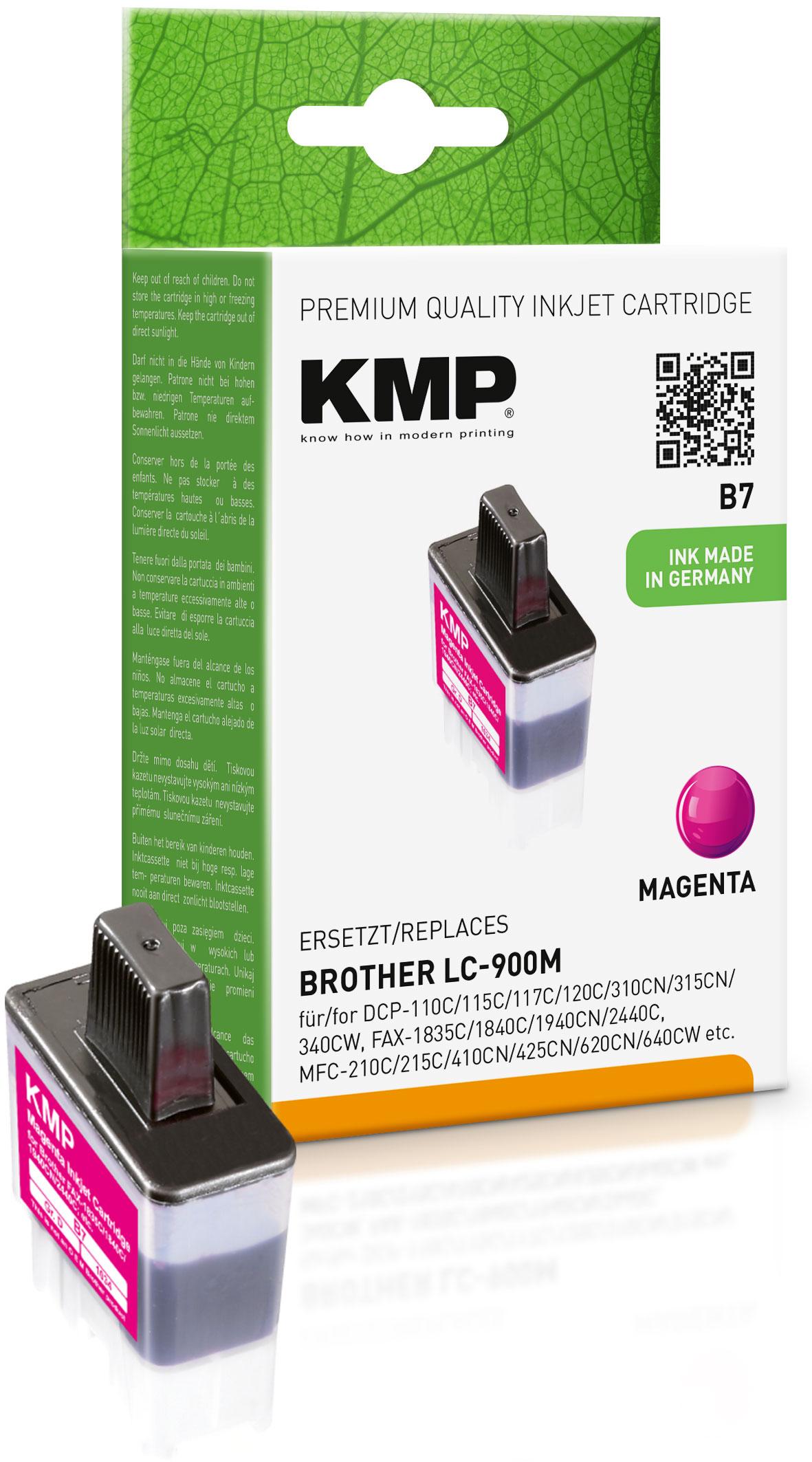 KMP Tintenpatrone magenta (1034,0006, B7)
