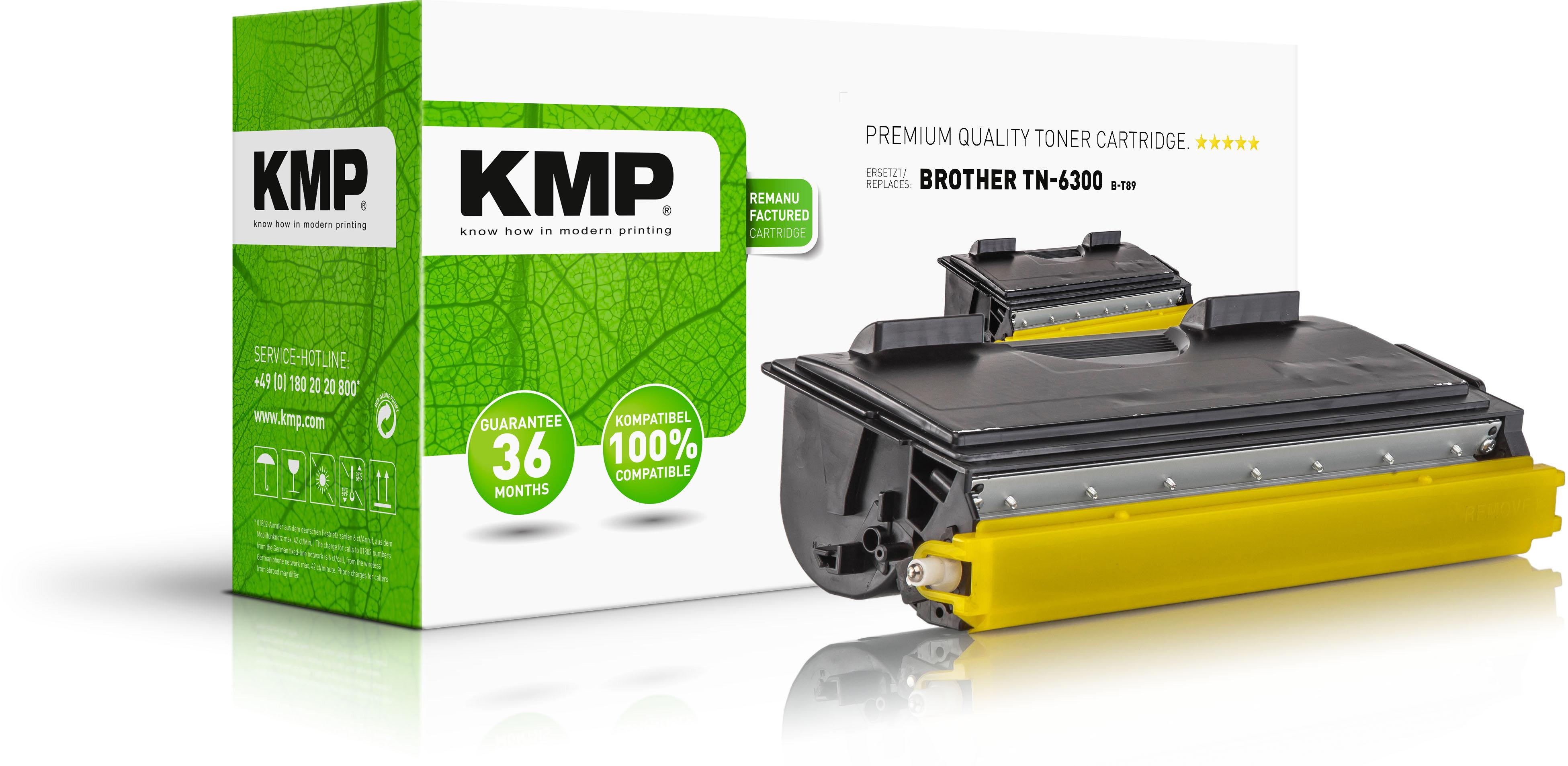 KMP Toner-Kartusche schwarz (1146,0000, B-T89)