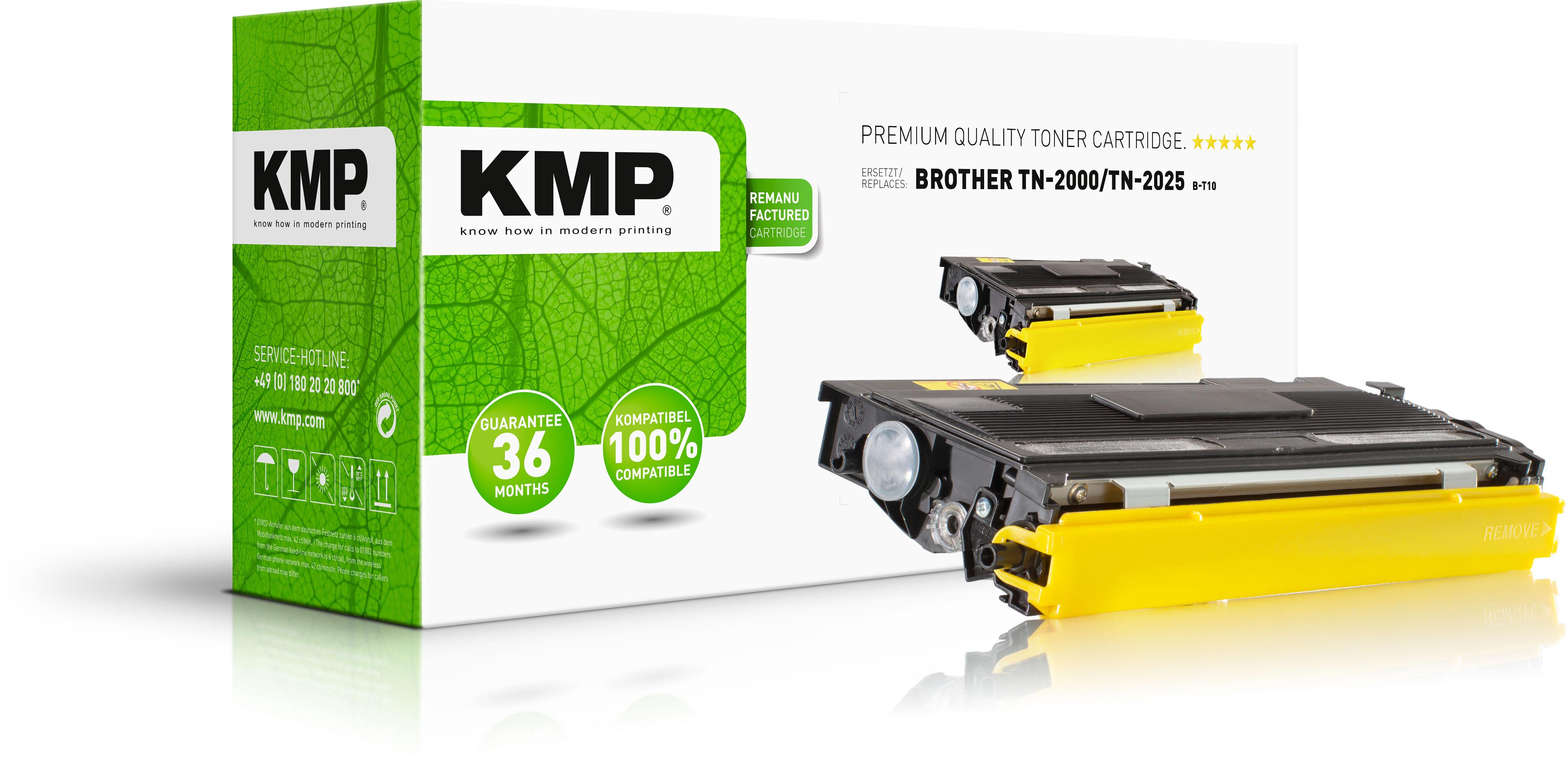 KMP Toner-Kit schwarz (1159,0000, B-T10)