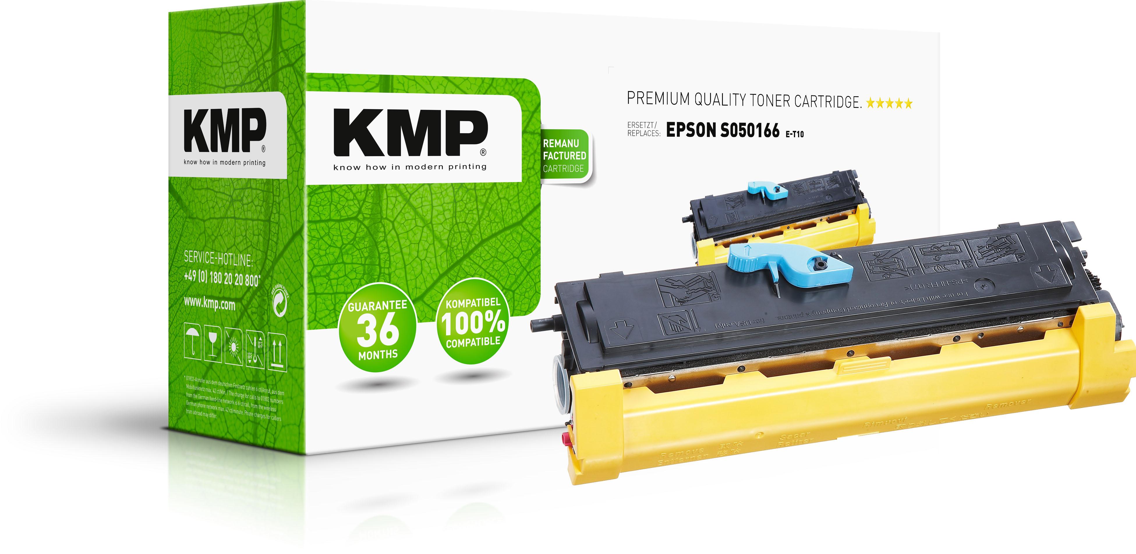 KMP Toner-Kartusche schwarz HC (1185,HC00, E-T10)