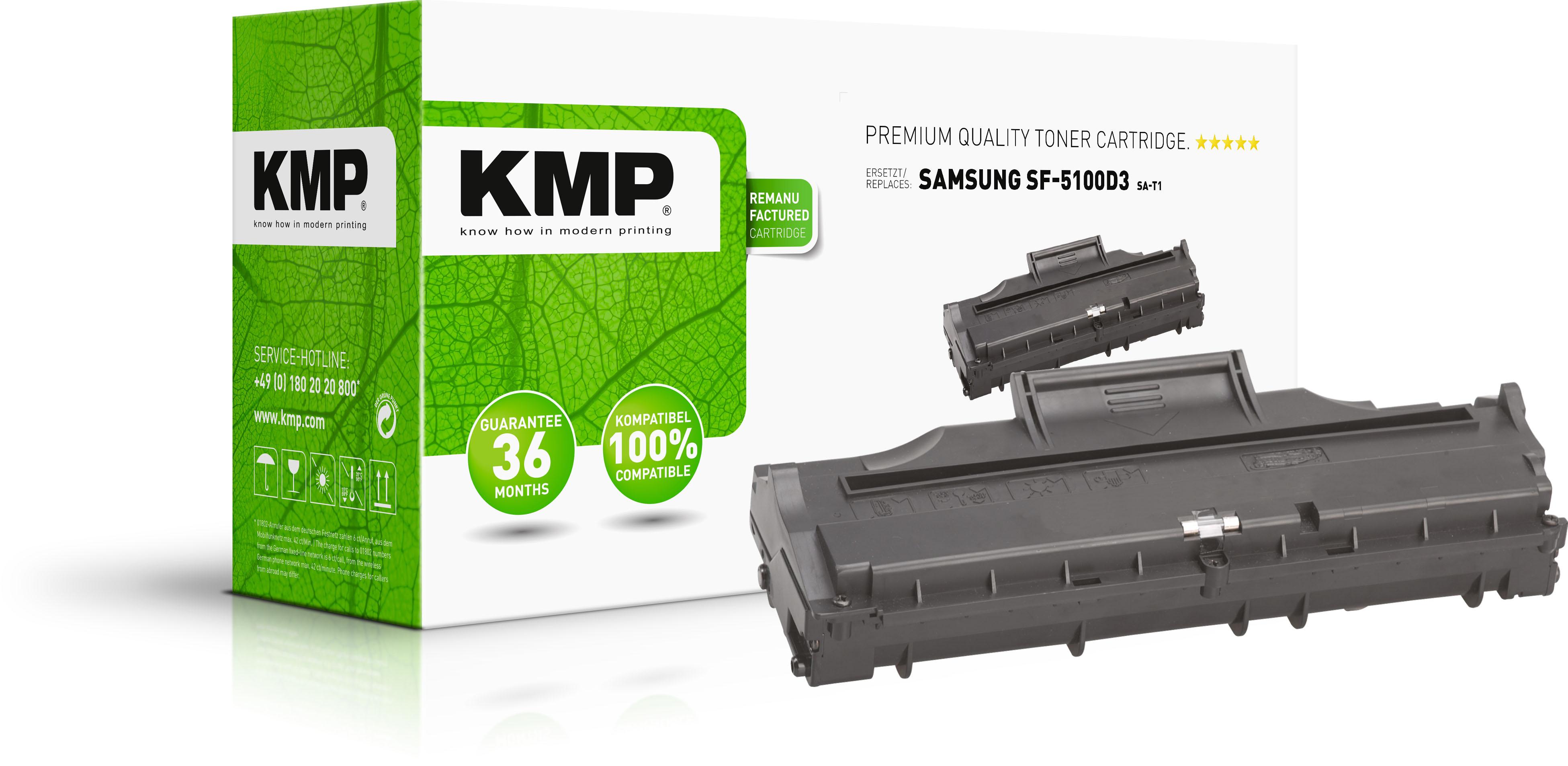 KMP Toner-Kartusche schwarz (1187,0000, SA-T1)