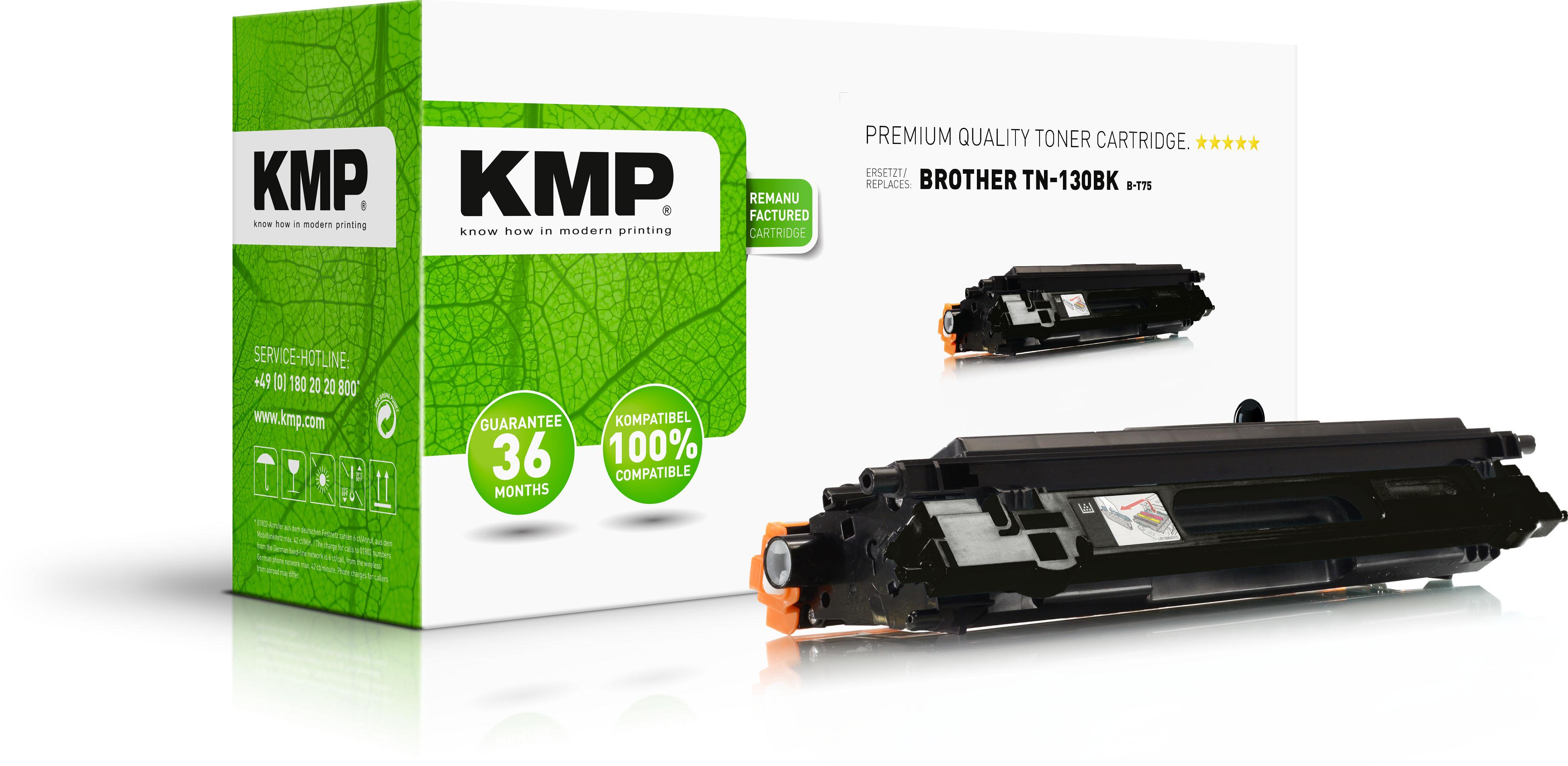 KMP Toner-Kit schwarz (1241,0000, B-T75)