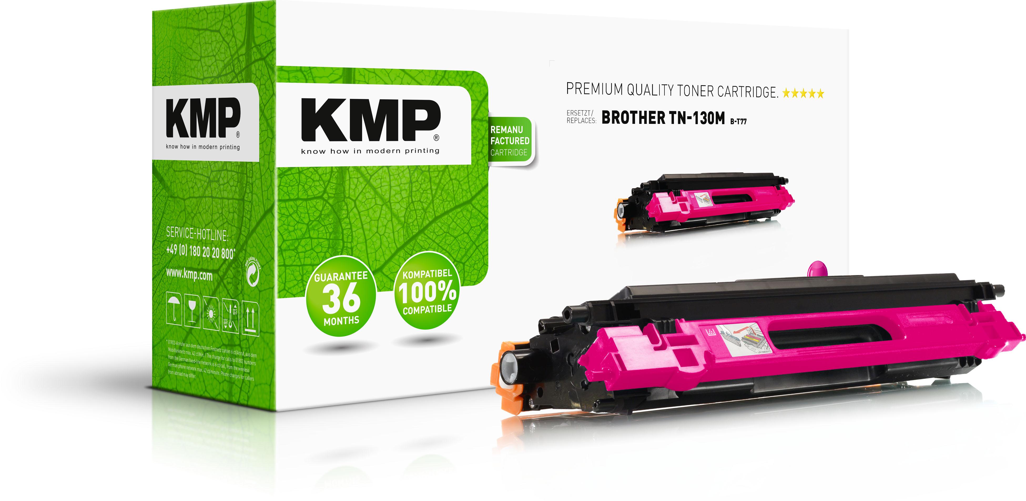 KMP Toner-Kit magenta (1241,0006, B-T77)