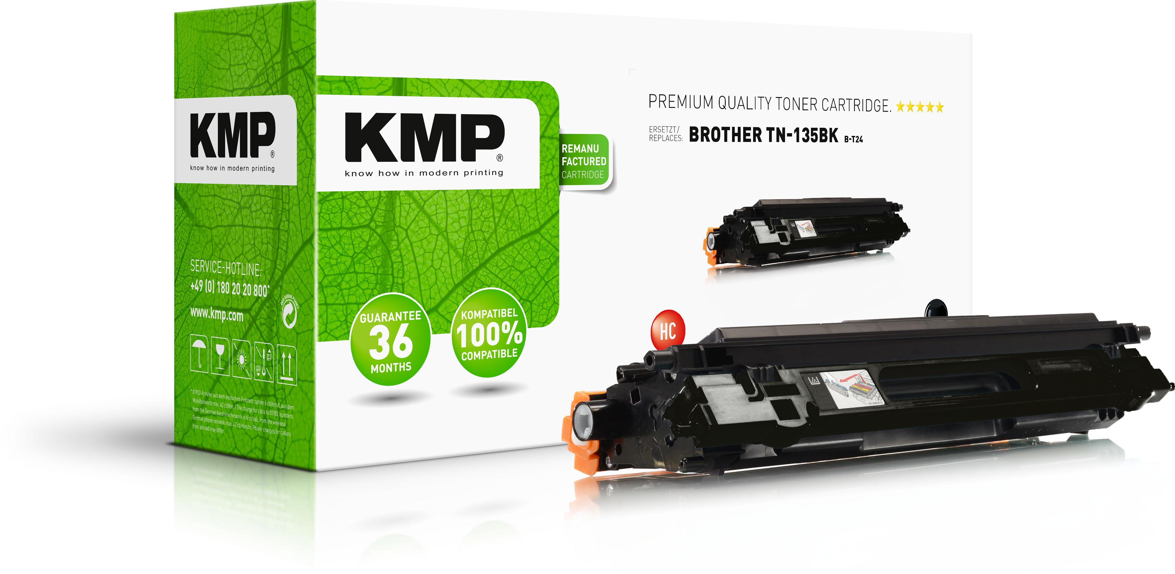 KMP Toner-Kit schwarz HC (1241,HC00, B-T24)