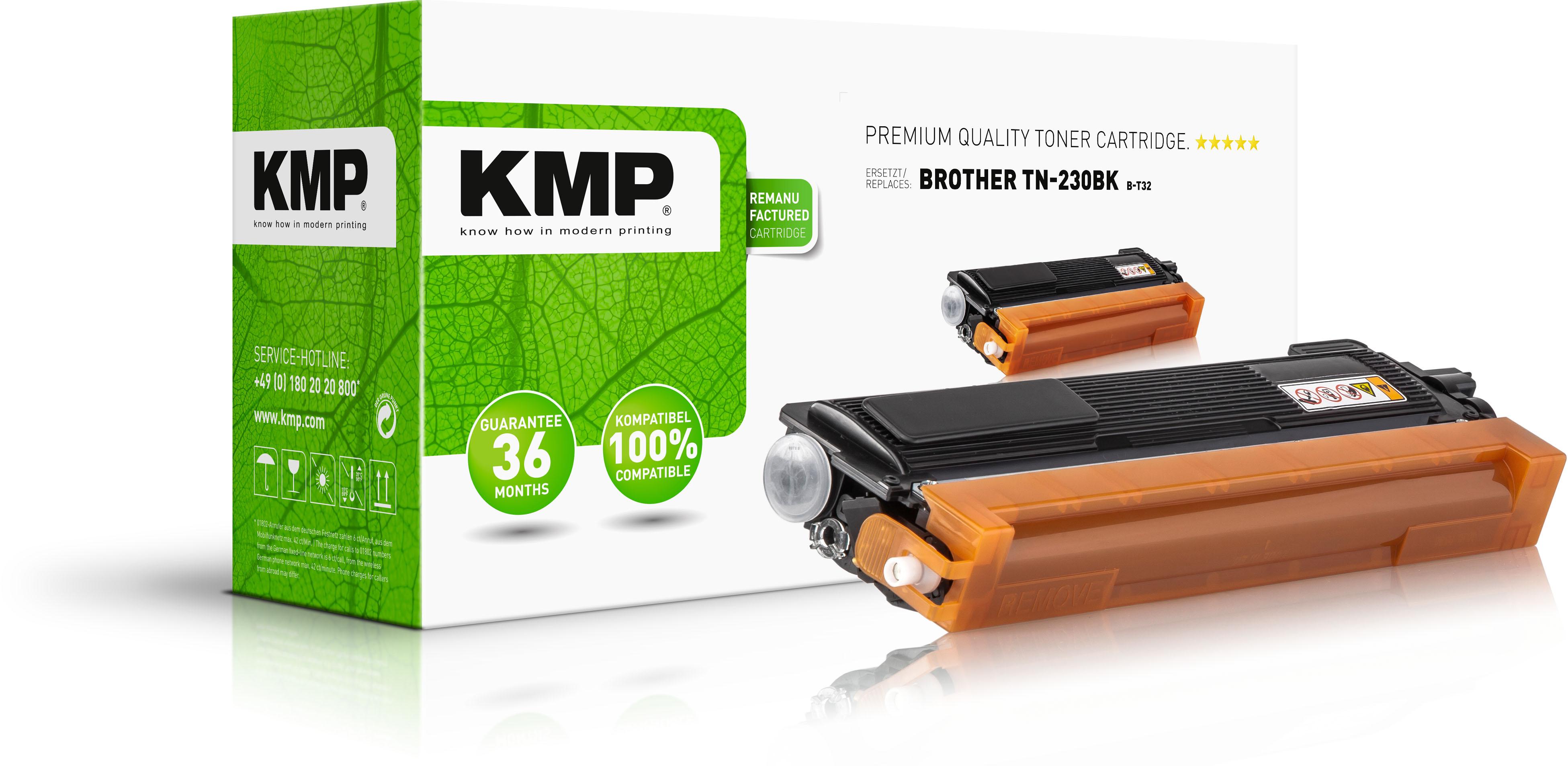 KMP Toner-Kit schwarz (1242,0000, B-T32)