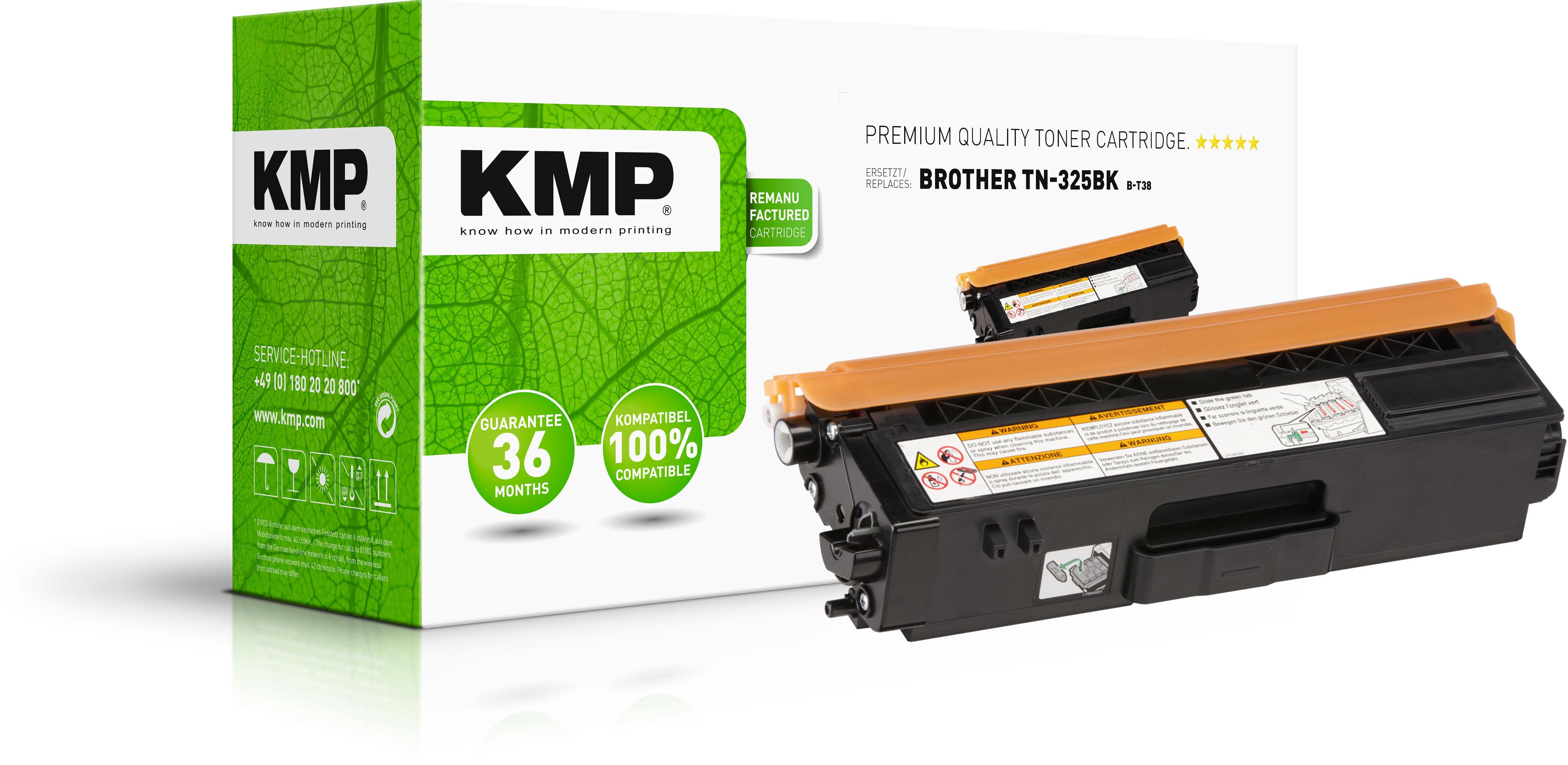 KMP Toner-Kit schwarz HC (1243,HC00, B-T38 B-T83)