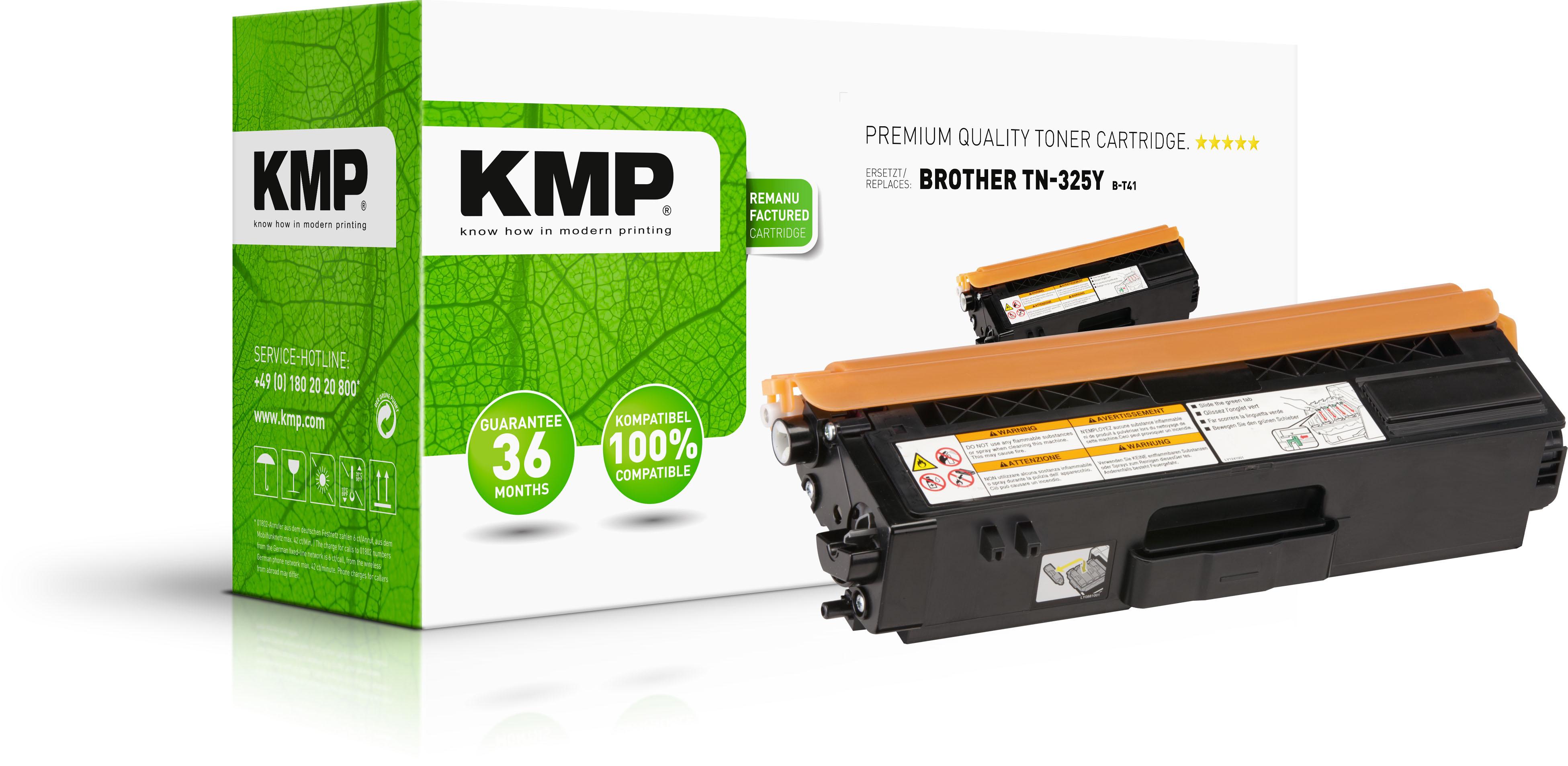 KMP Toner-Kit gelb HC (1243,HC09, B-T41)