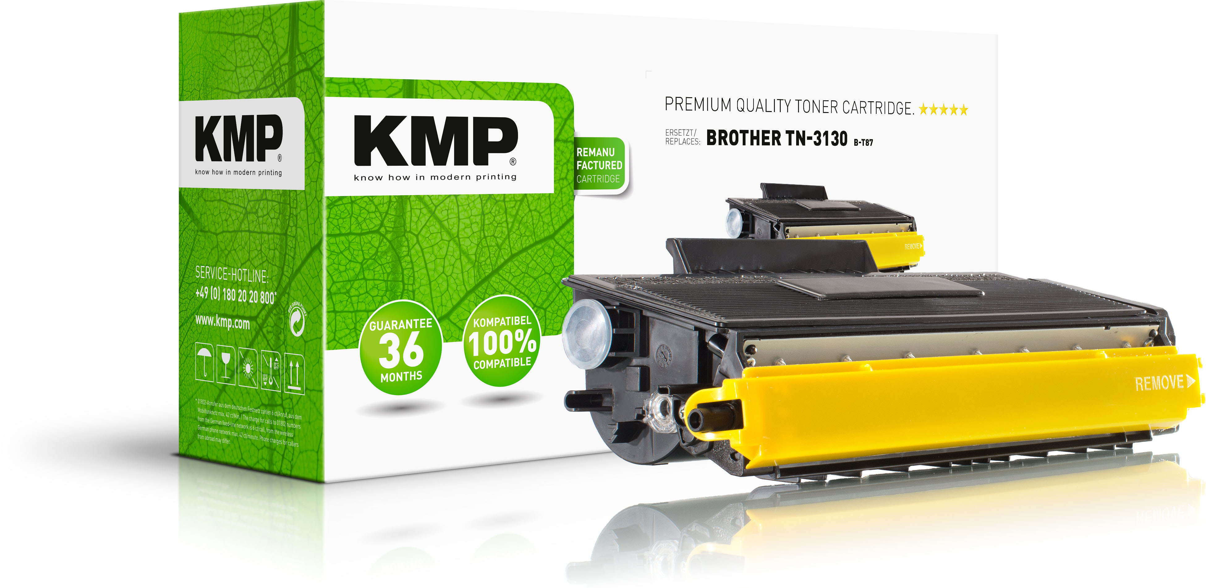KMP Toner-Kit schwarz HC (1251,0000, B-T15)