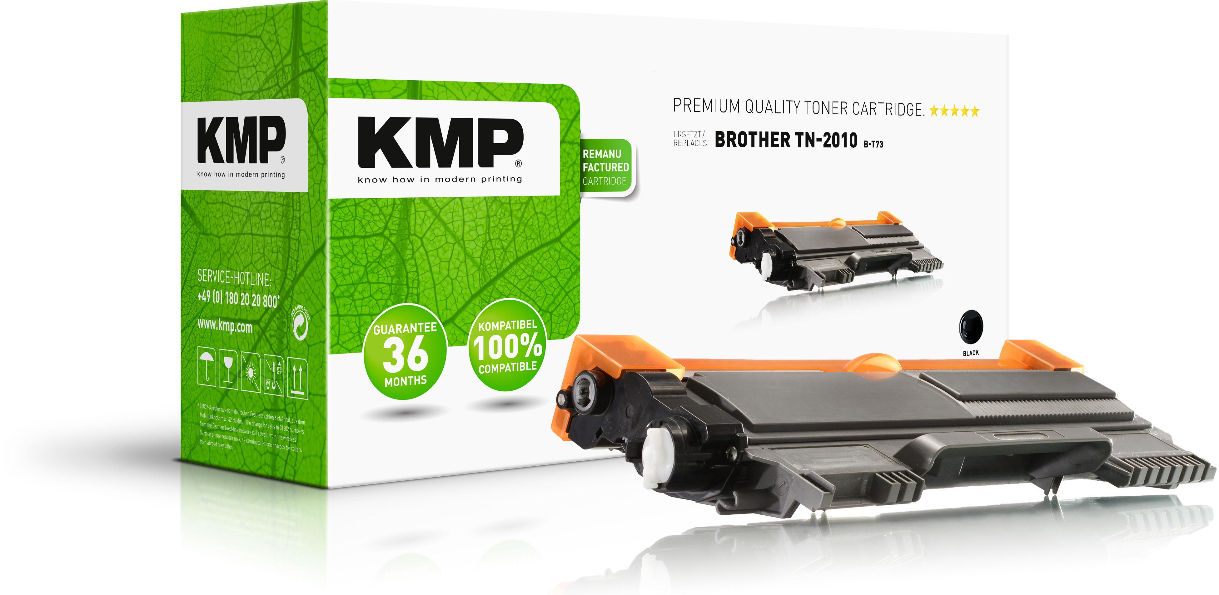KMP Toner-Kit schwarz (1257,0000, B-T73)