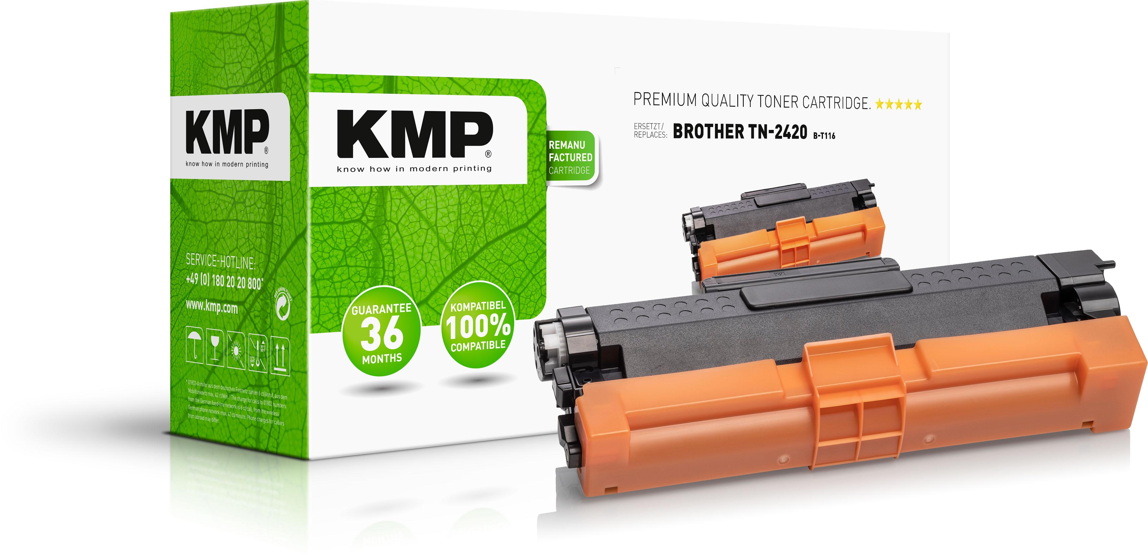 KMP Toner-Kit schwarz HC (1267,3000, B-T116)