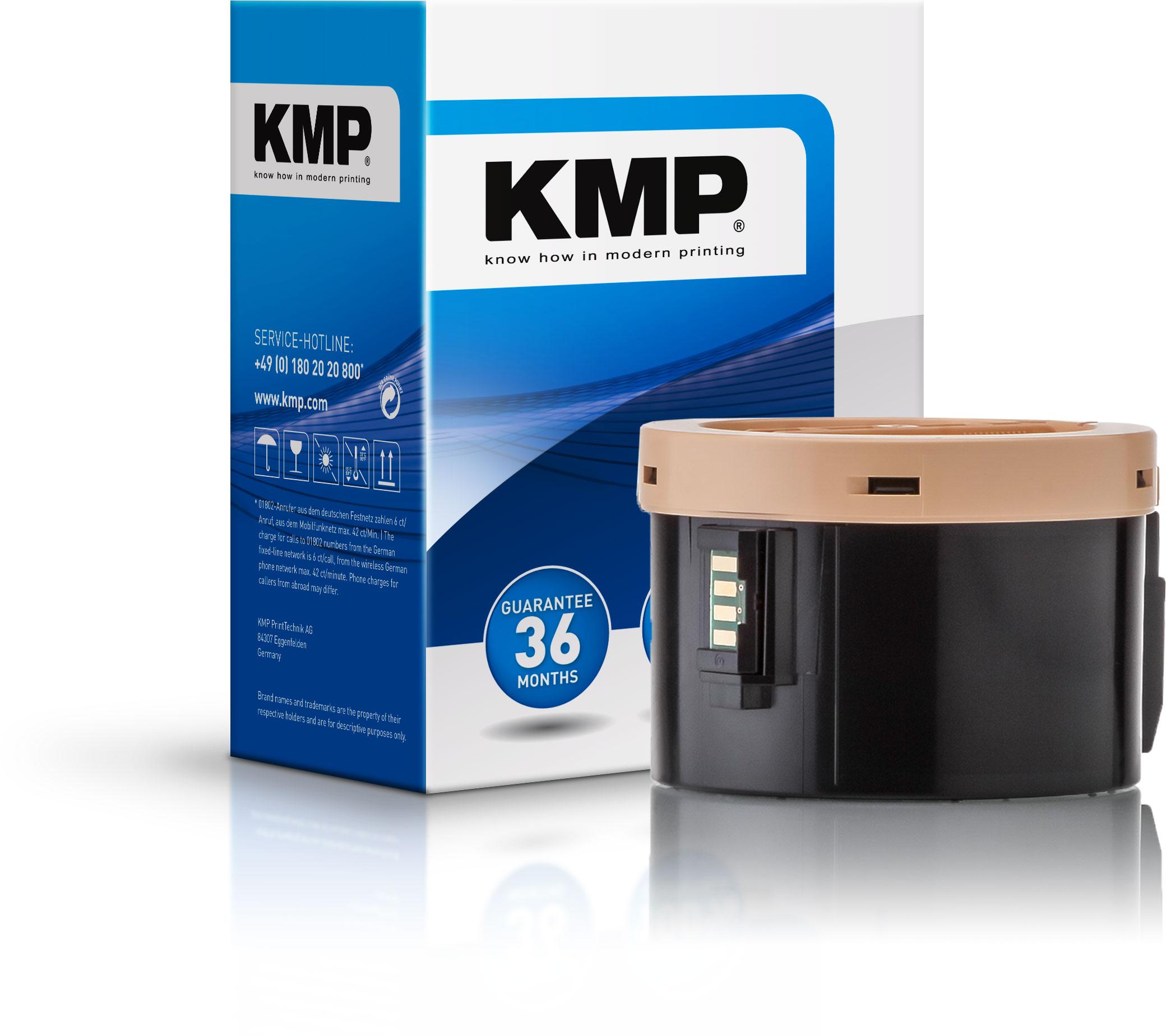 KMP Toner-Kartusche schwarz (1287,3000, E-T11)
