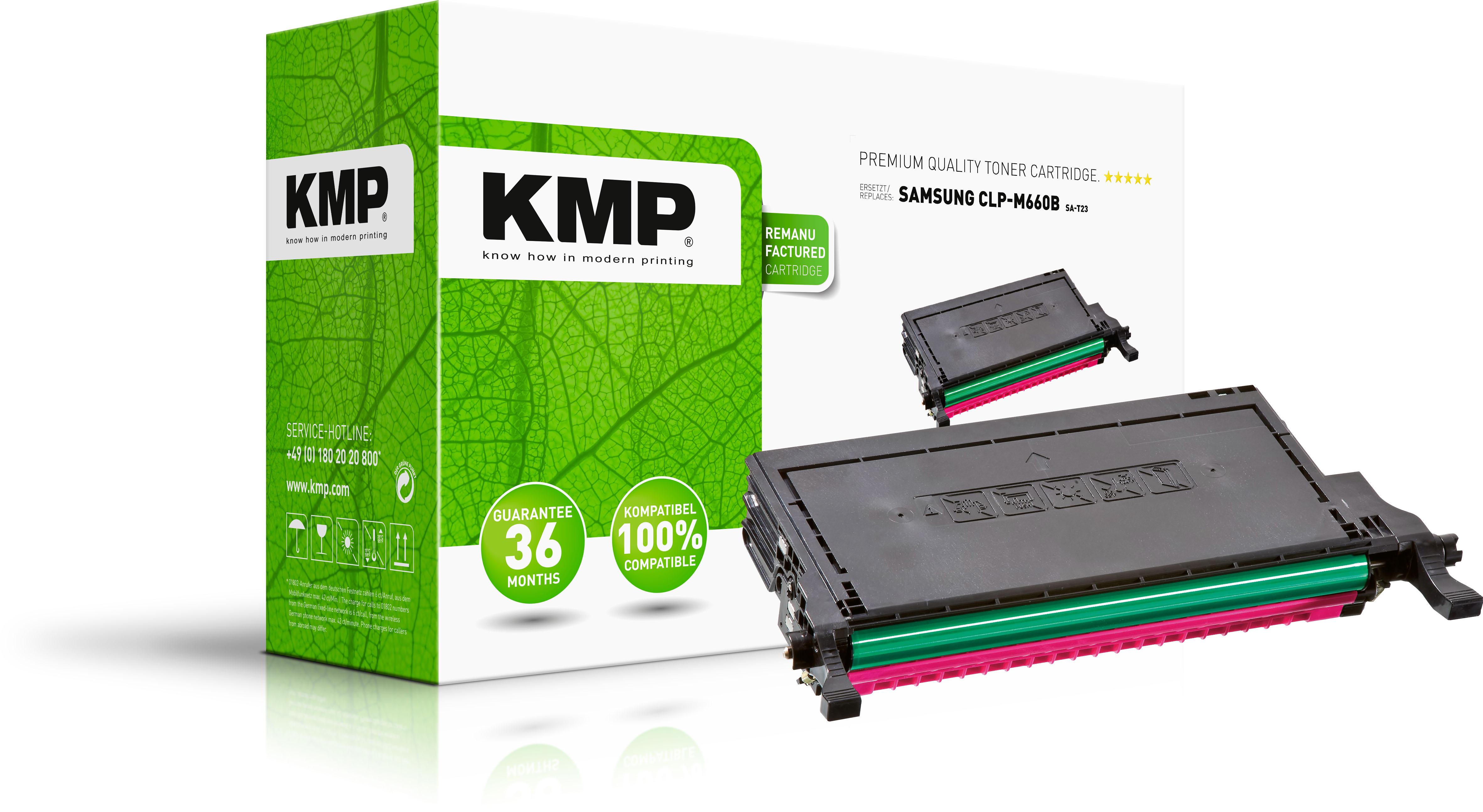 KMP Toner-Kartusche magenta HC (1360,0006, SA-T23)