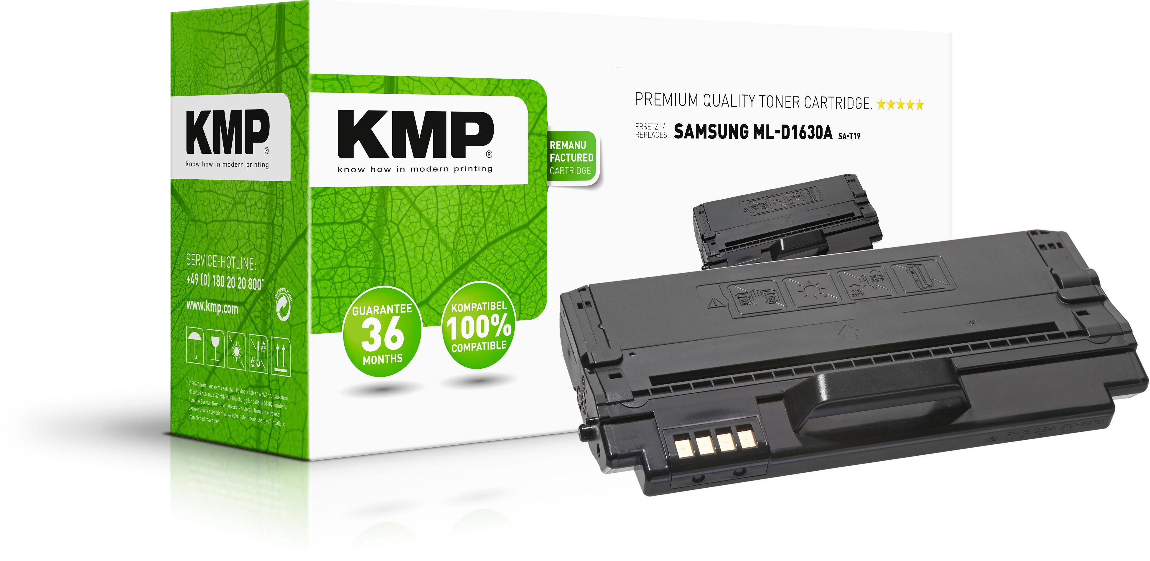 KMP Toner-Kartusche schwarz (1362,0000, SA-T19)