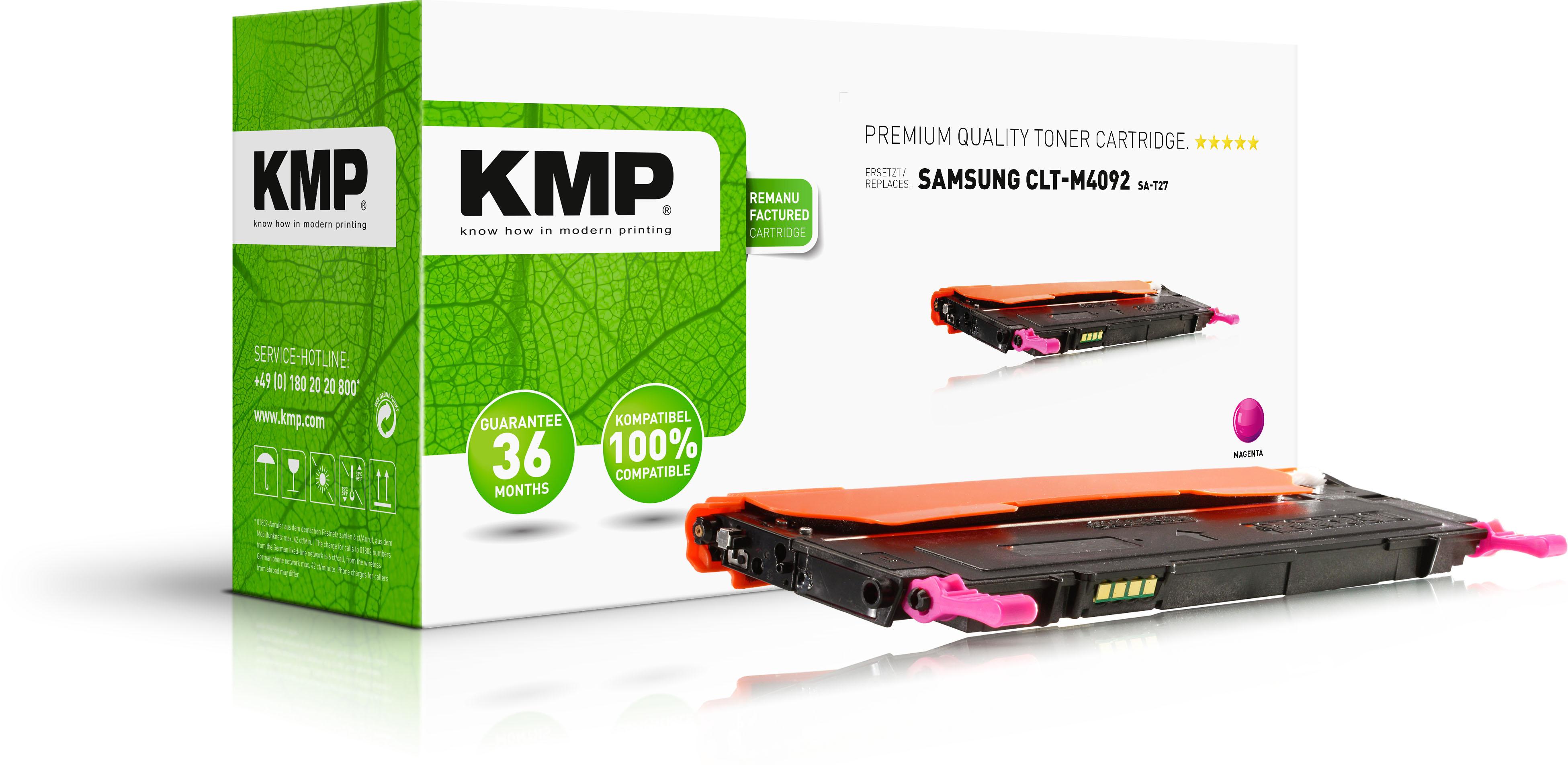 KMP Toner-Kartusche magenta (1363,0006, SA-T27)