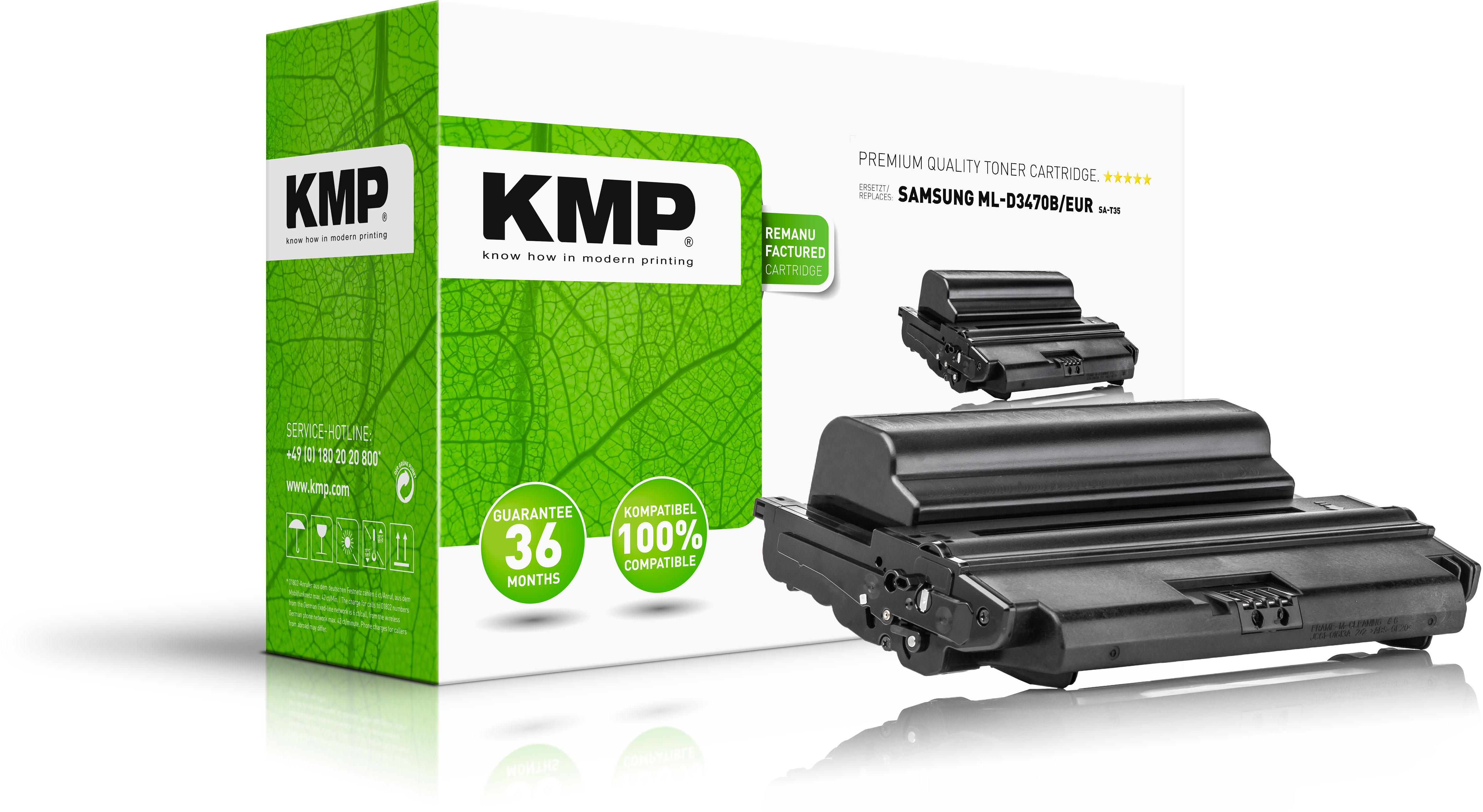 KMP Toner-Kartusche schwarz HC (1369,HC00, SA-T35)