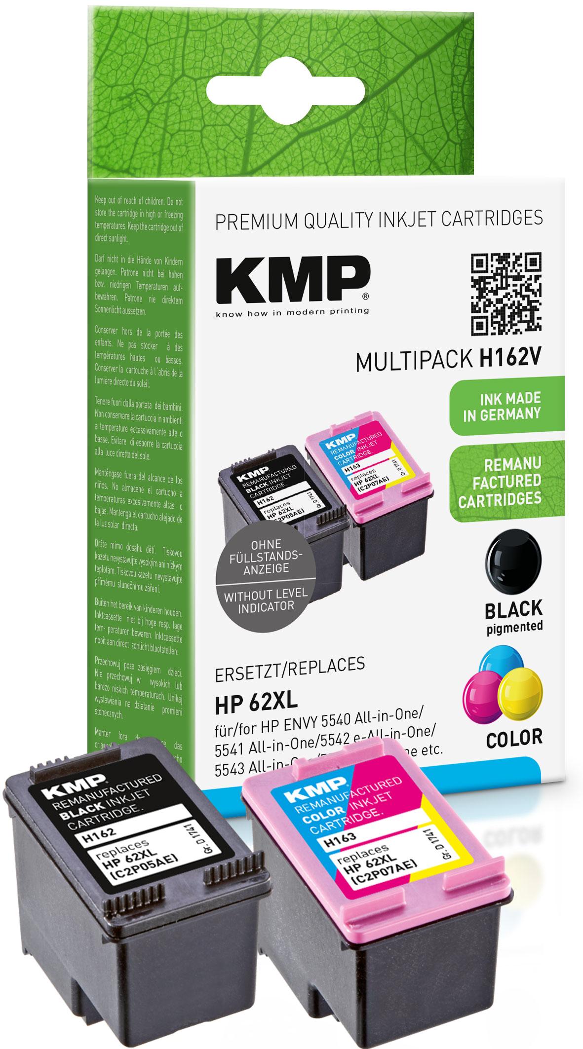 Tintenpatrone ersetzt HP 62XL (C2P05AE, C2P07AE)