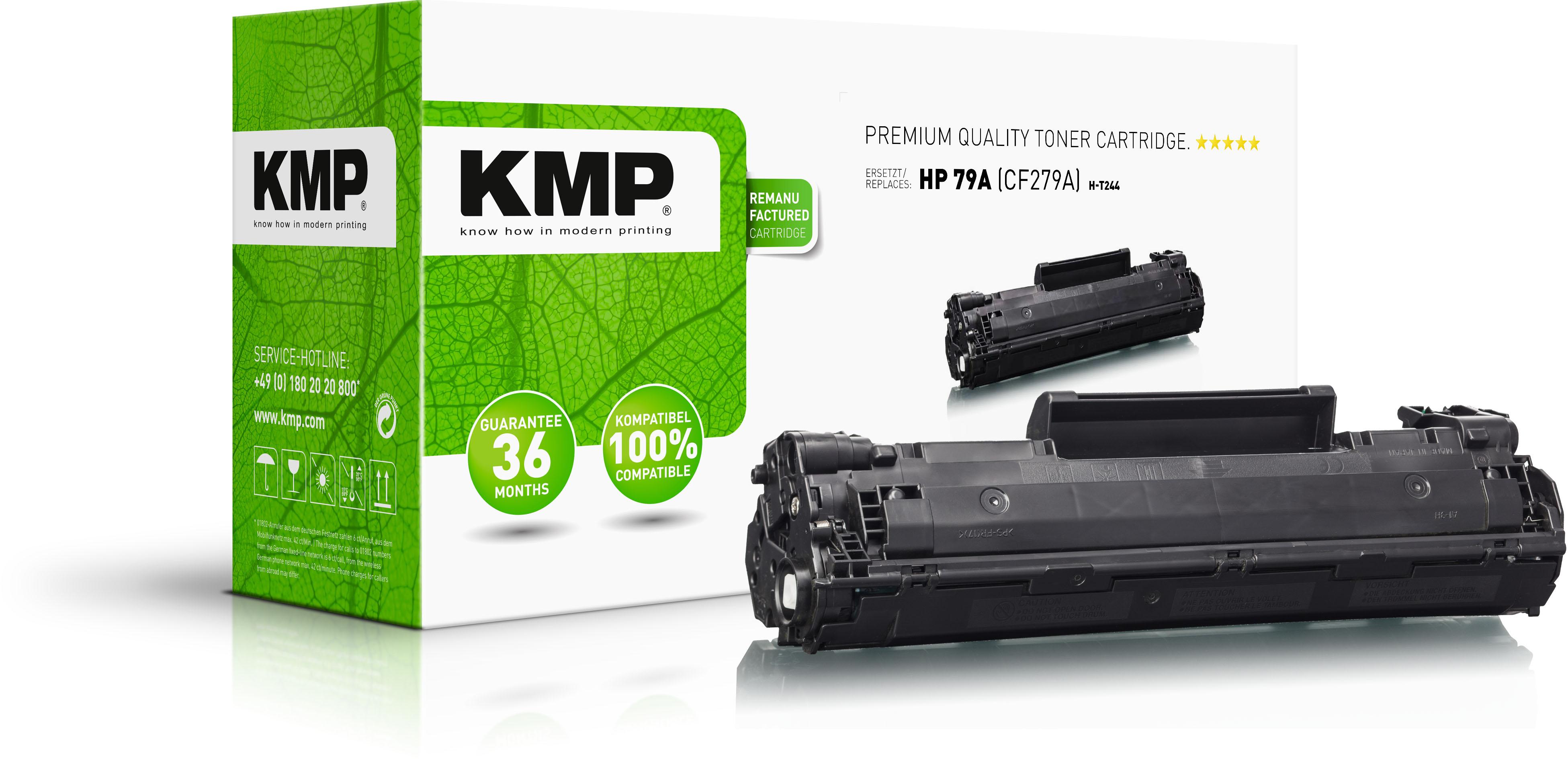 KMP Toner-Kartusche schwarz (2542,0000)