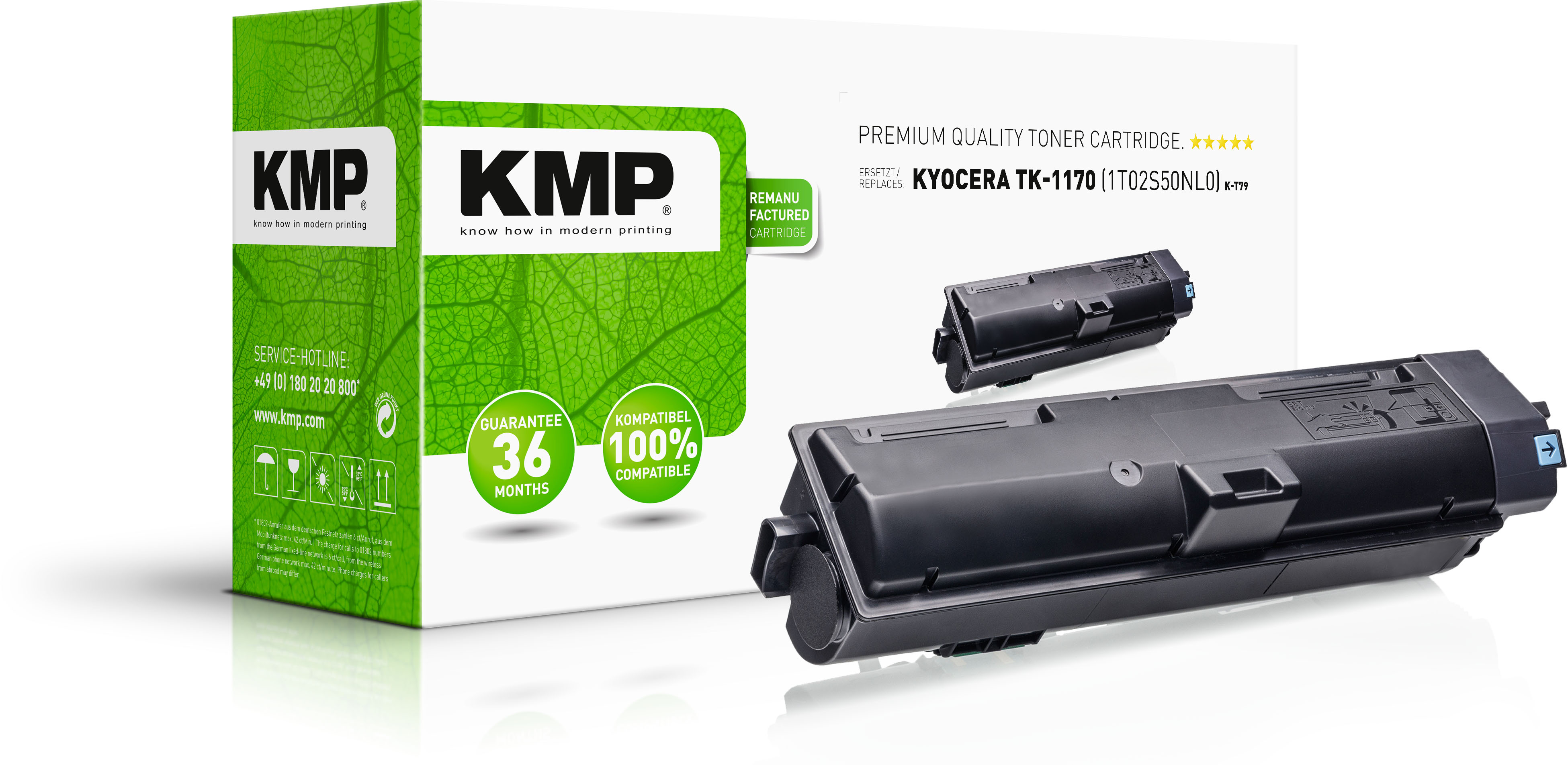 Tonerkartusche ersetzt Kyocera TK1170 (1T02S50NL0)