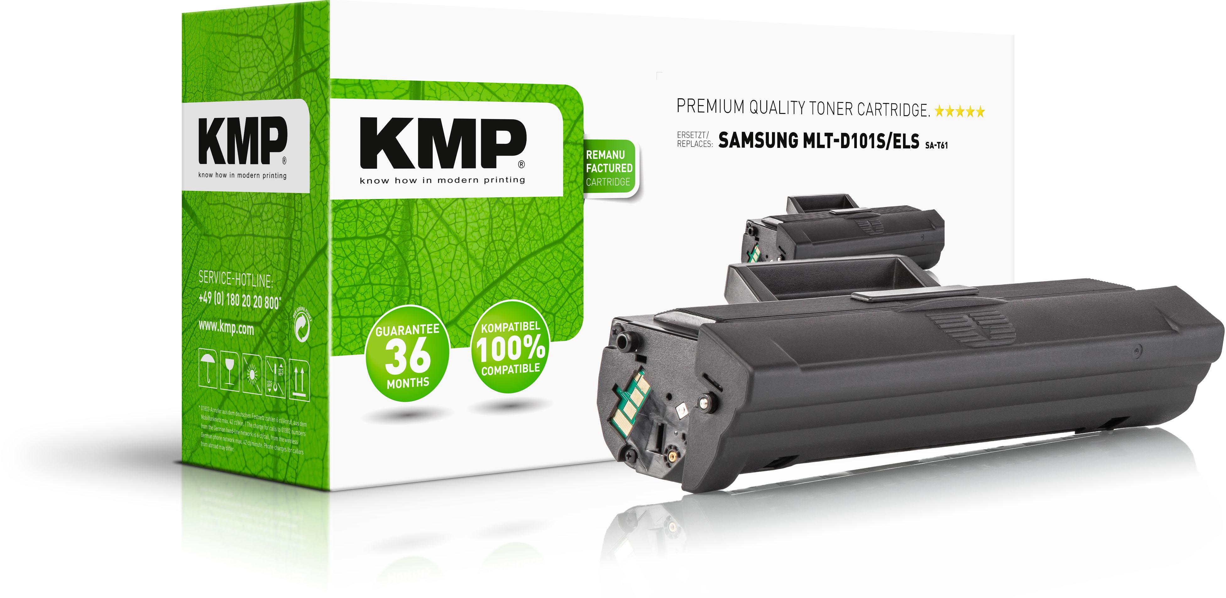 KMP Toner-Kartusche schwarz (3505,0000, SA-T61)