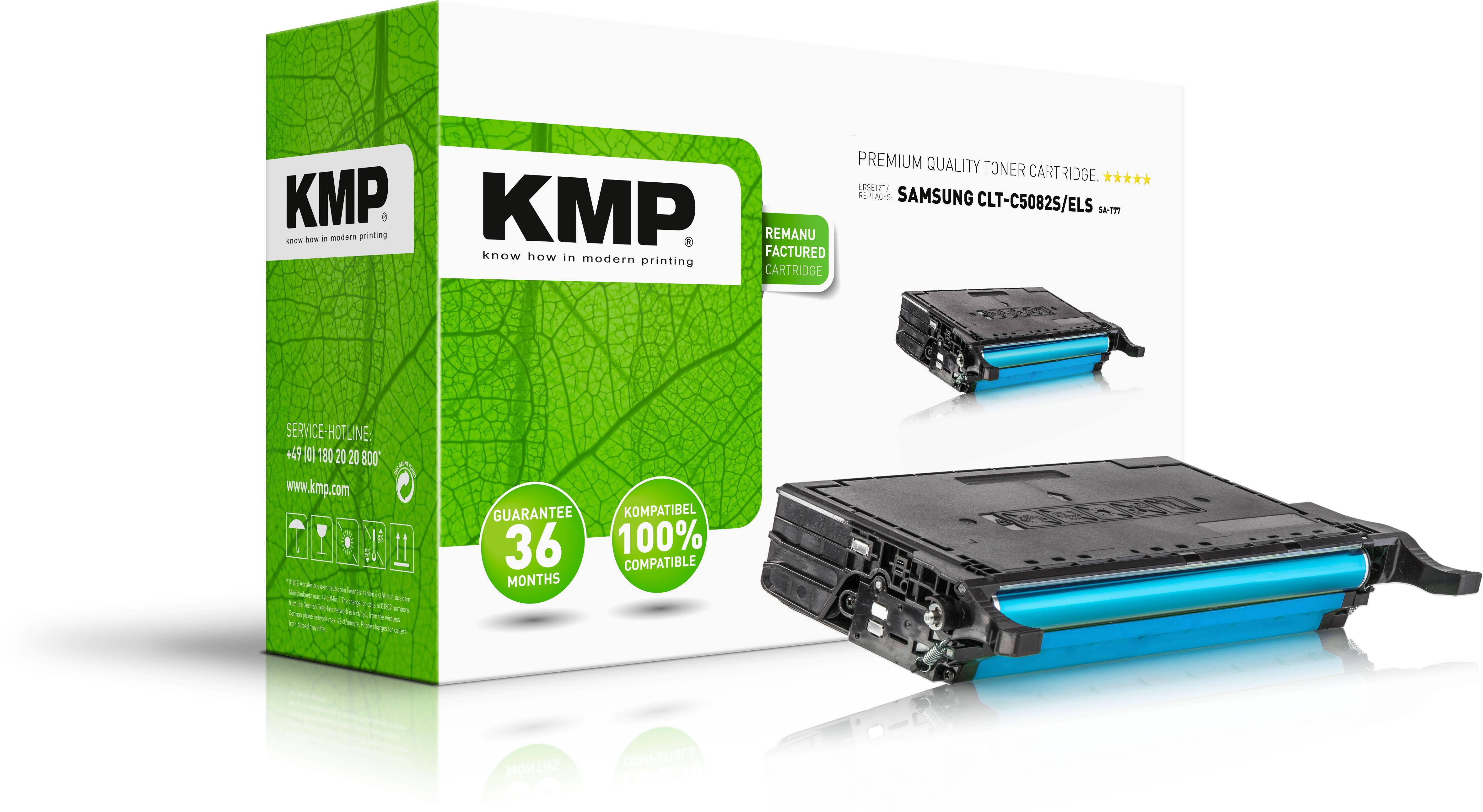 KMP Toner-Kit cyan (3507,0003, SA-T77)
