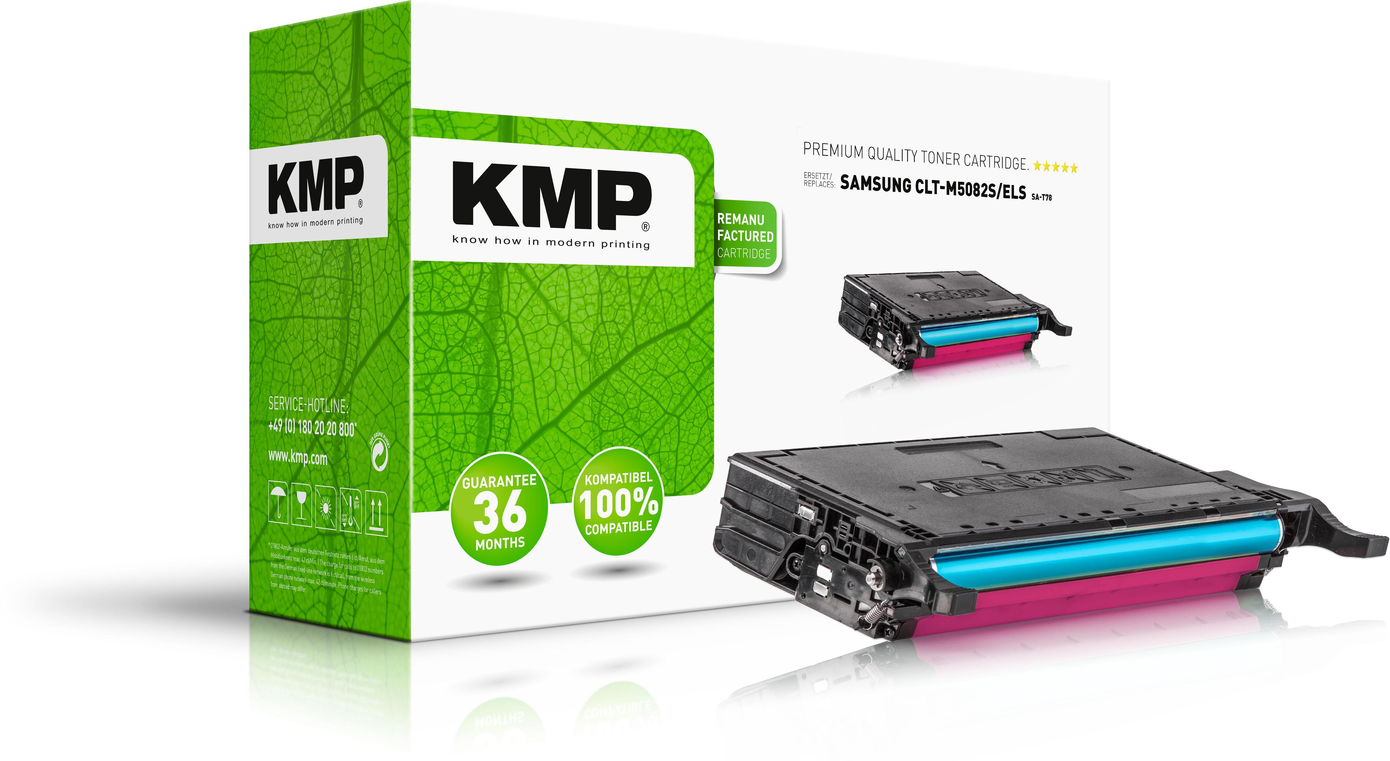 KMP Toner-Kit magenta (3507,0006, SA-T78)