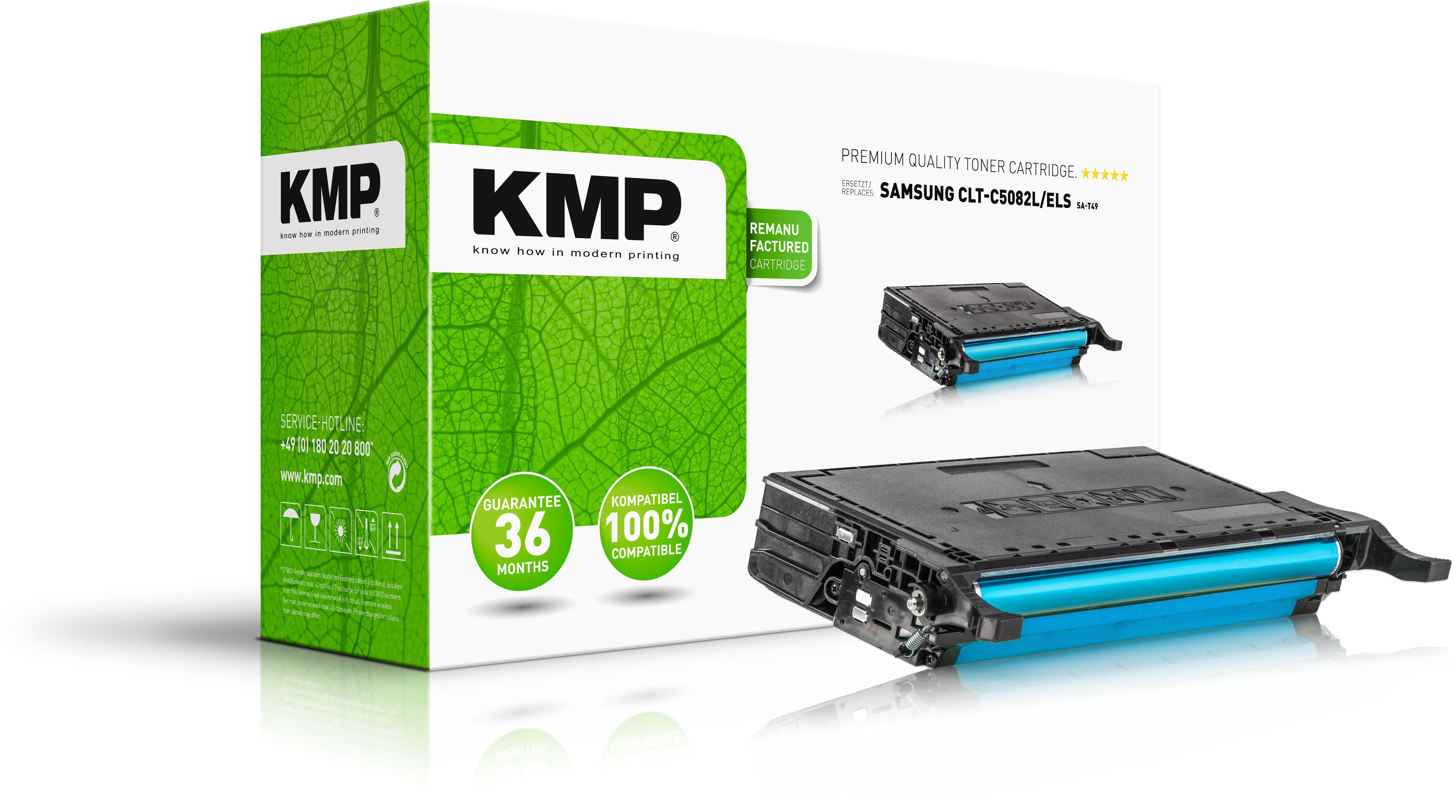 KMP Toner-Kit cyan HC (3507,HC03, SA-T49)