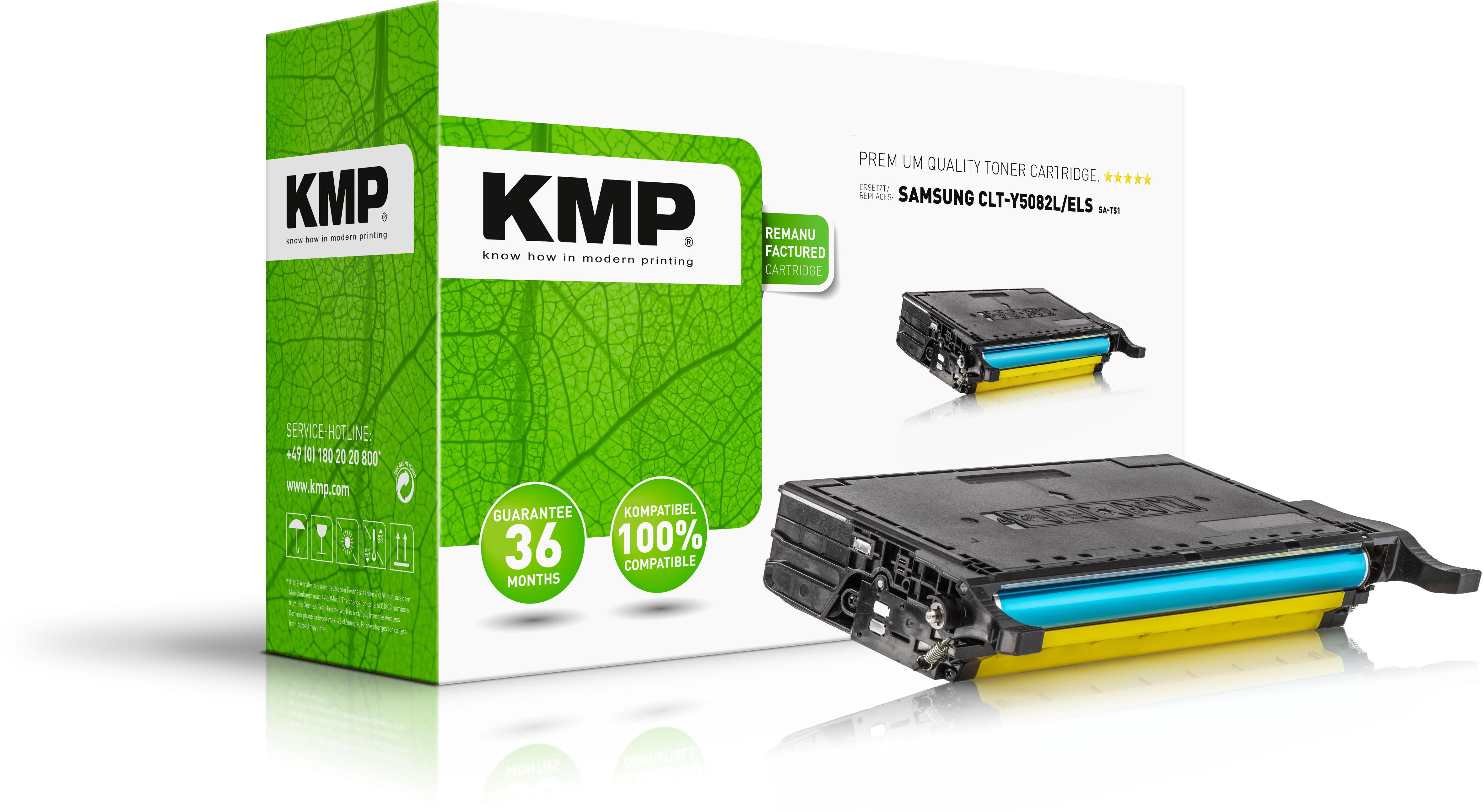 KMP Toner-Kit gelb HC (3507,HC09, SA-T51)