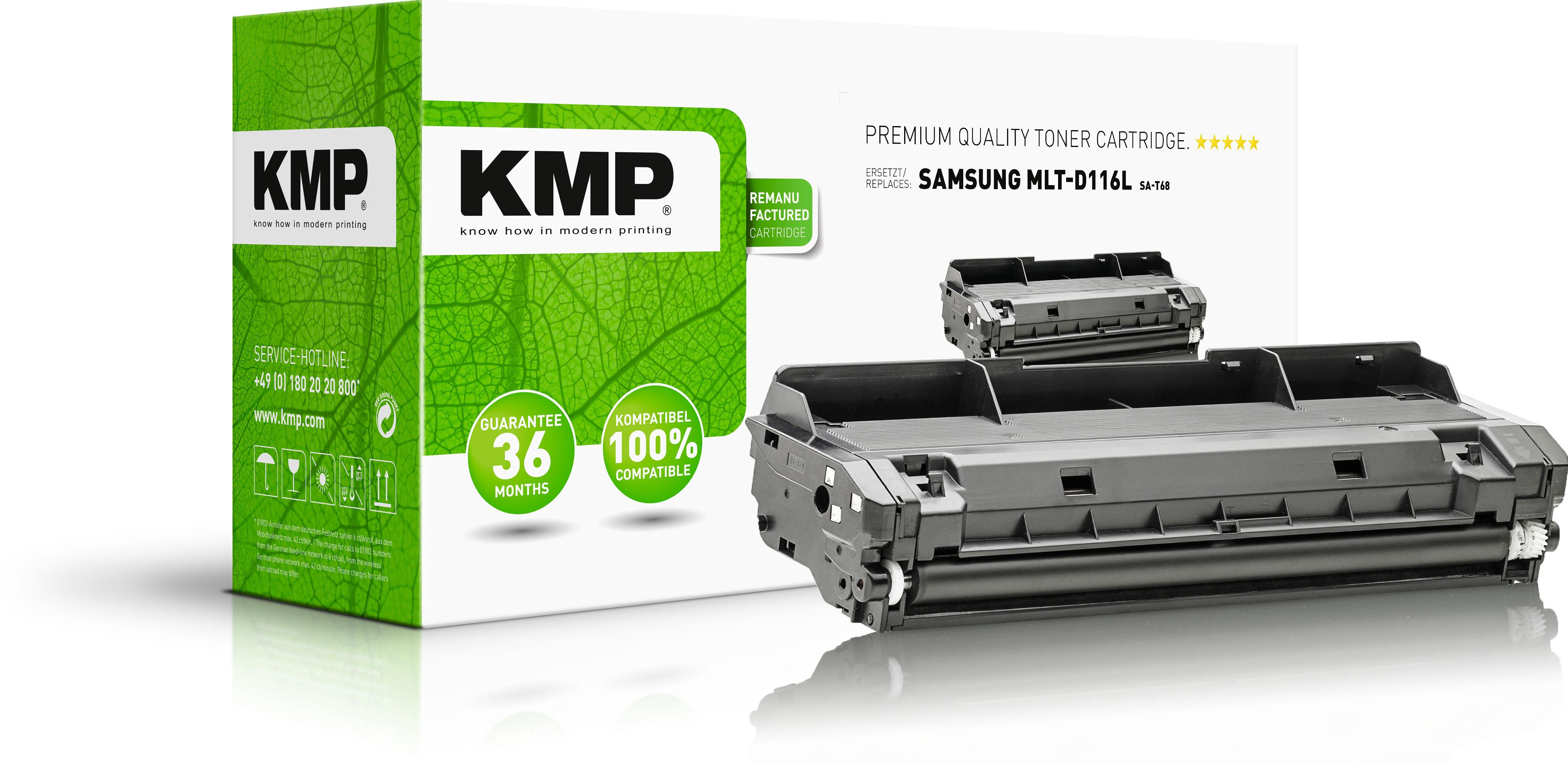 KMP Toner-Kit schwarz HC (3515,3000, SA-T68)