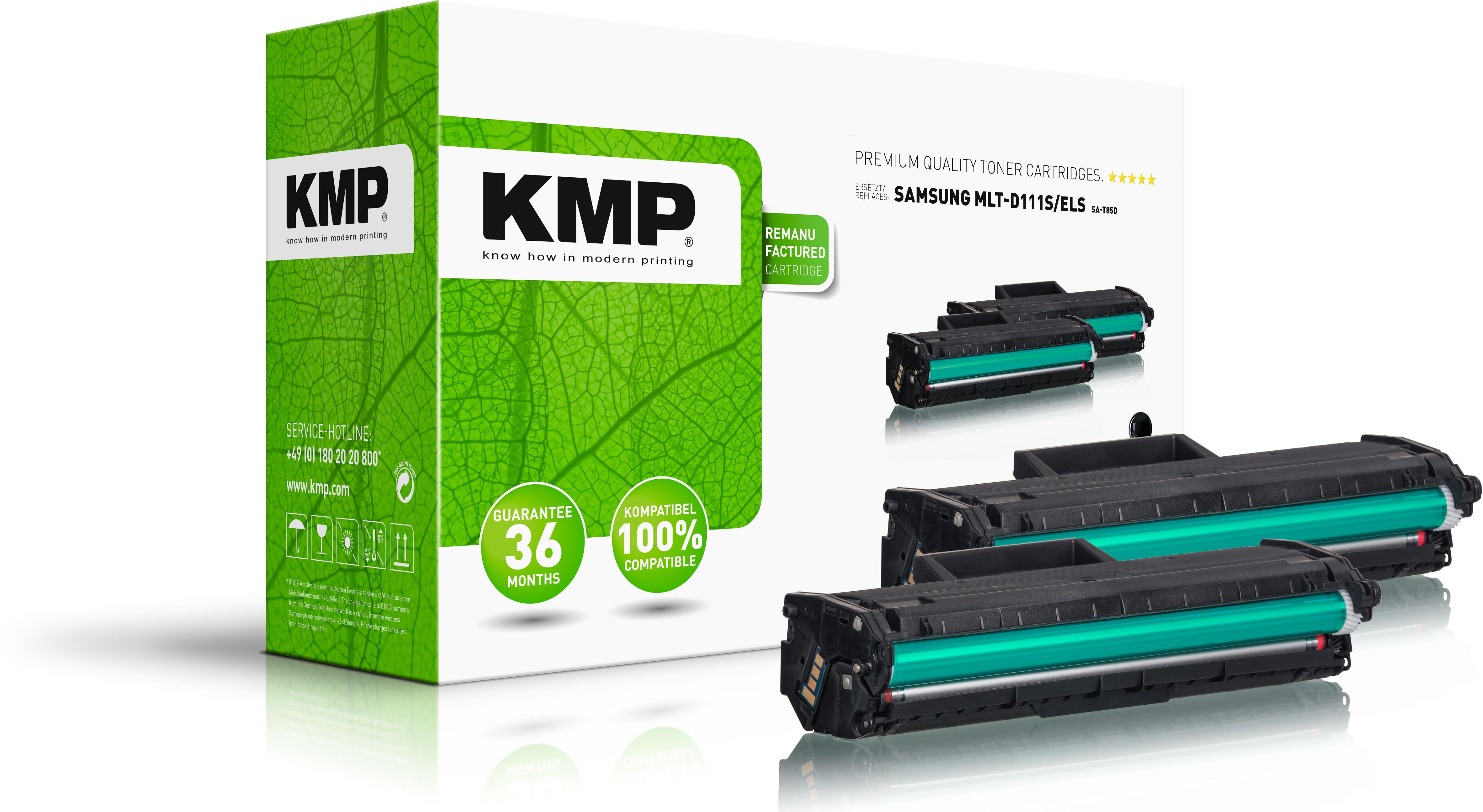 KMP Toner-Kartusche schwarz (3518,0021)