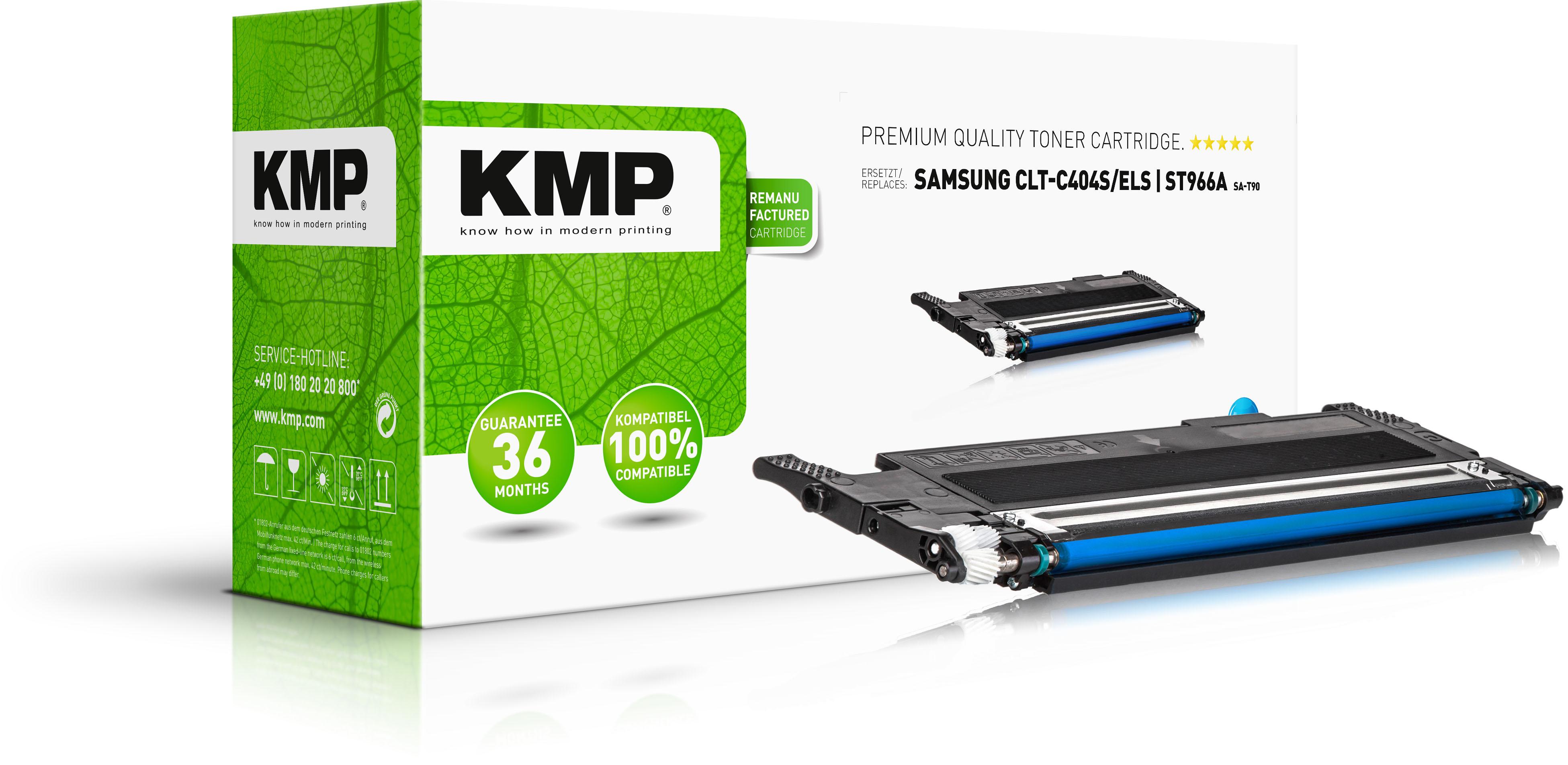 Tonerkartusche ersetzt Samsung C404C (CLTC404SELS, ST966A)